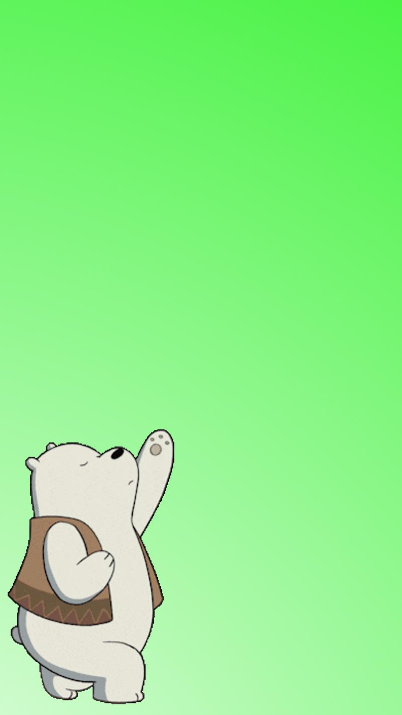 Download Ice Bear wallpapers to your cell phone - cartoon network ...