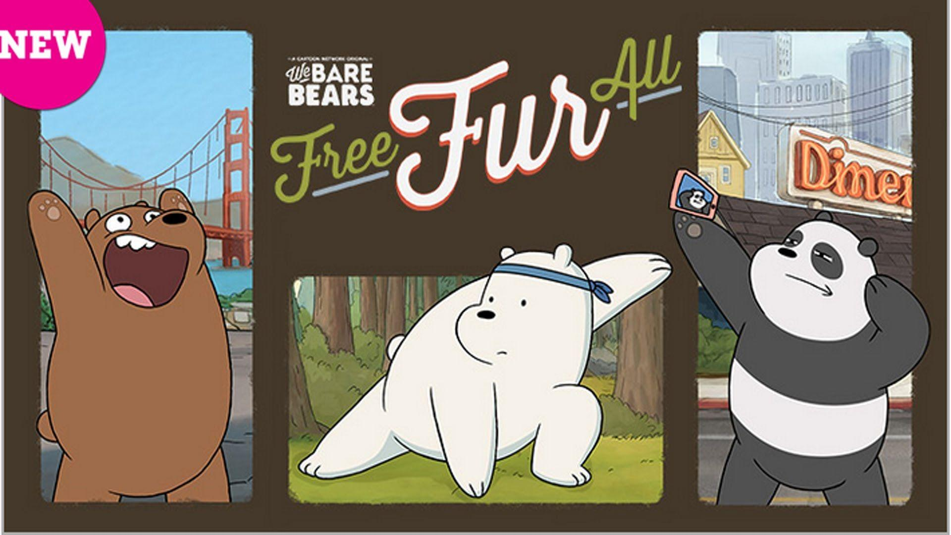 Ice Bear Rules All! | Free Fur All | We Bare Bears Cartoon Network ...