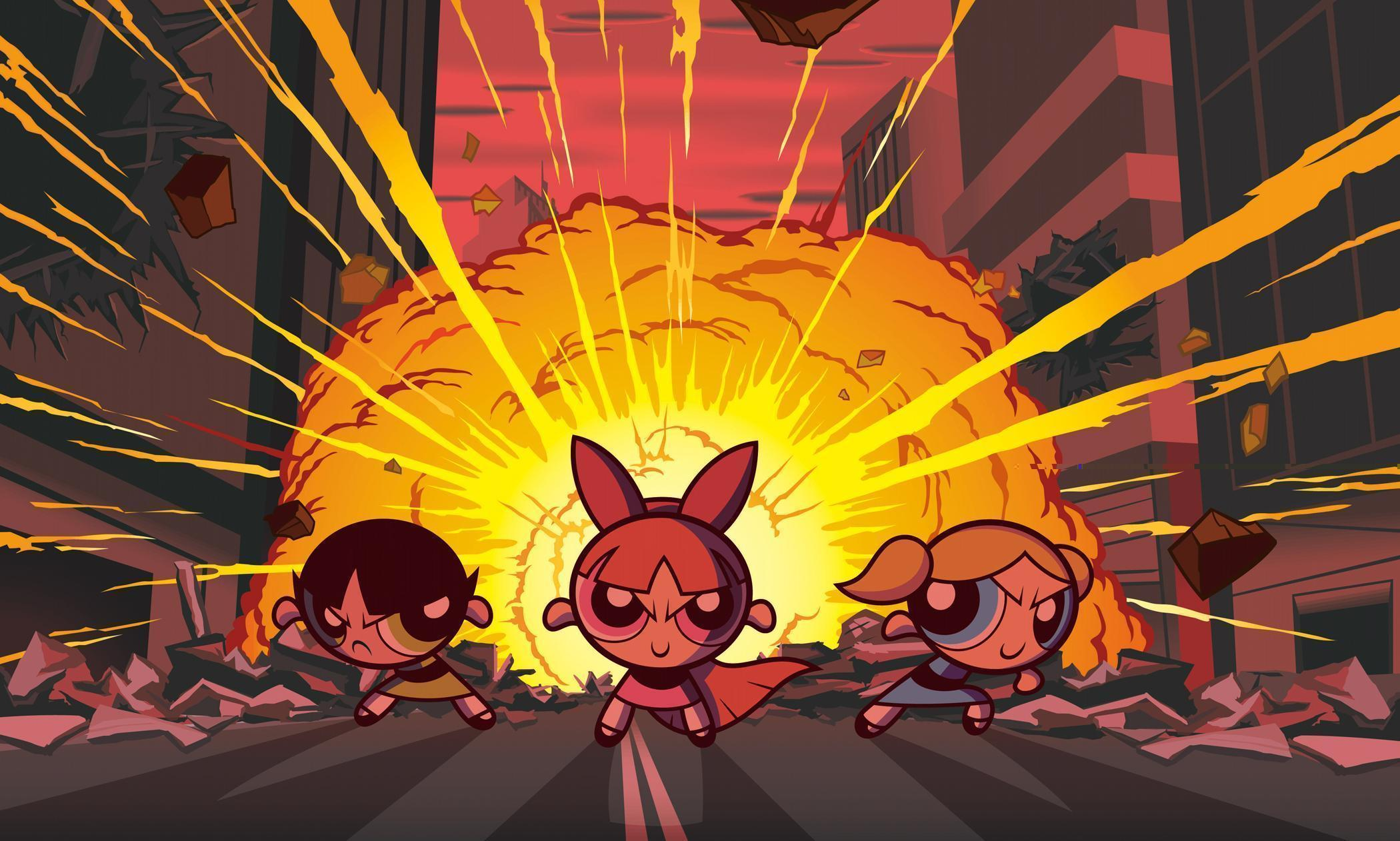 16 The Powerpuff Girls HD Wallpapers | Backgrounds - Wallpaper Abyss
