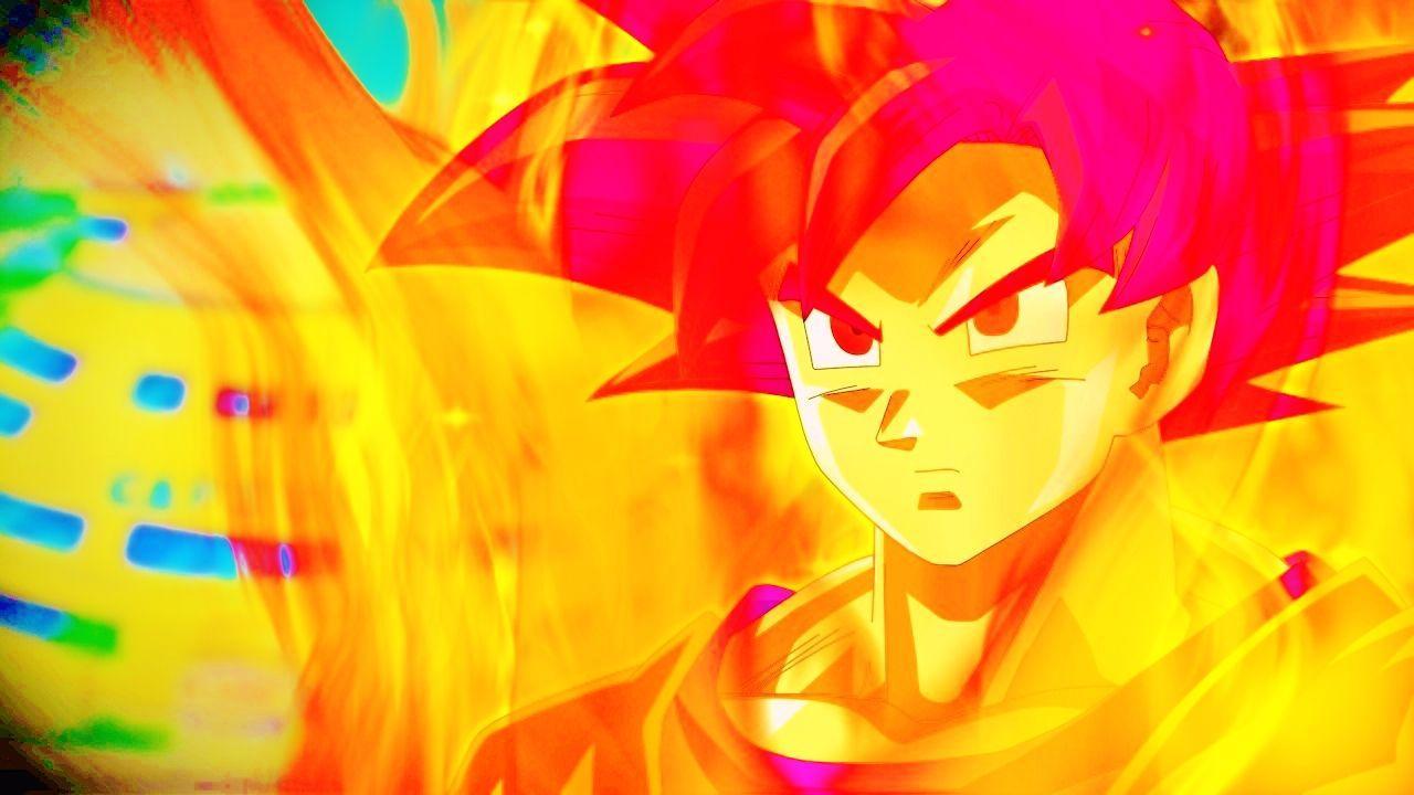 Goku SSJ God Wallpapers - Wallpaper Cave