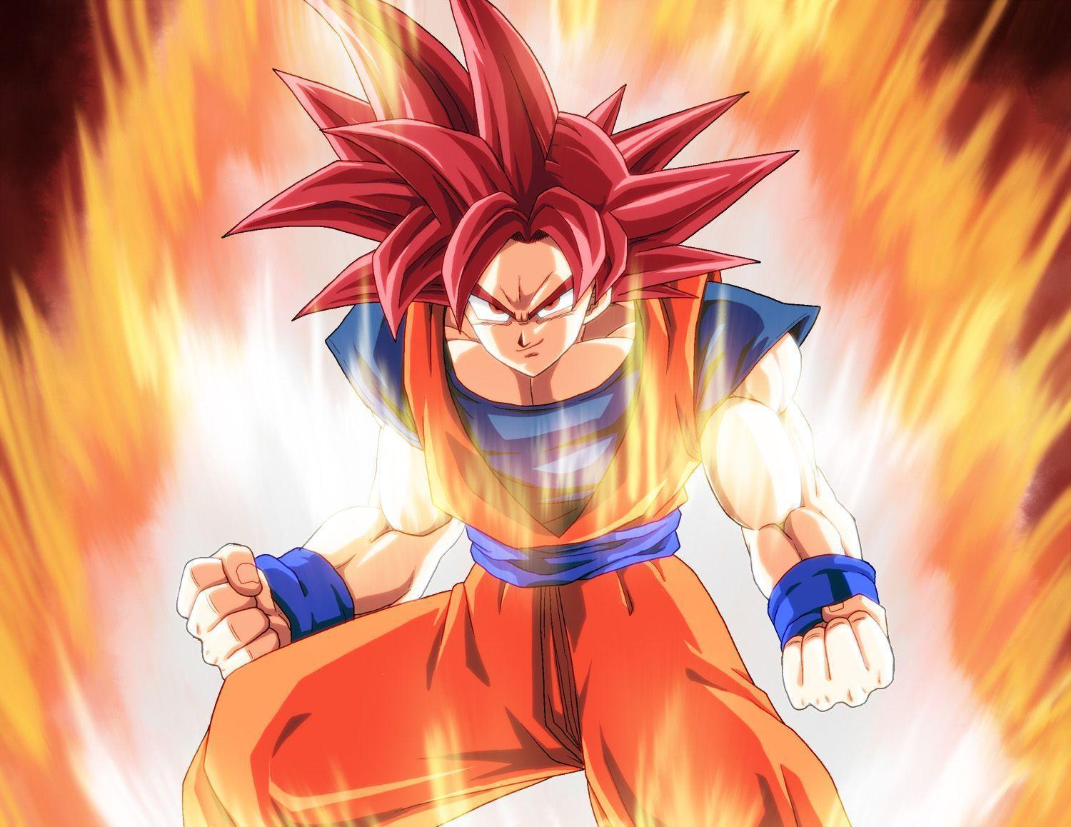 Super Saiyan God HD Wallpapers