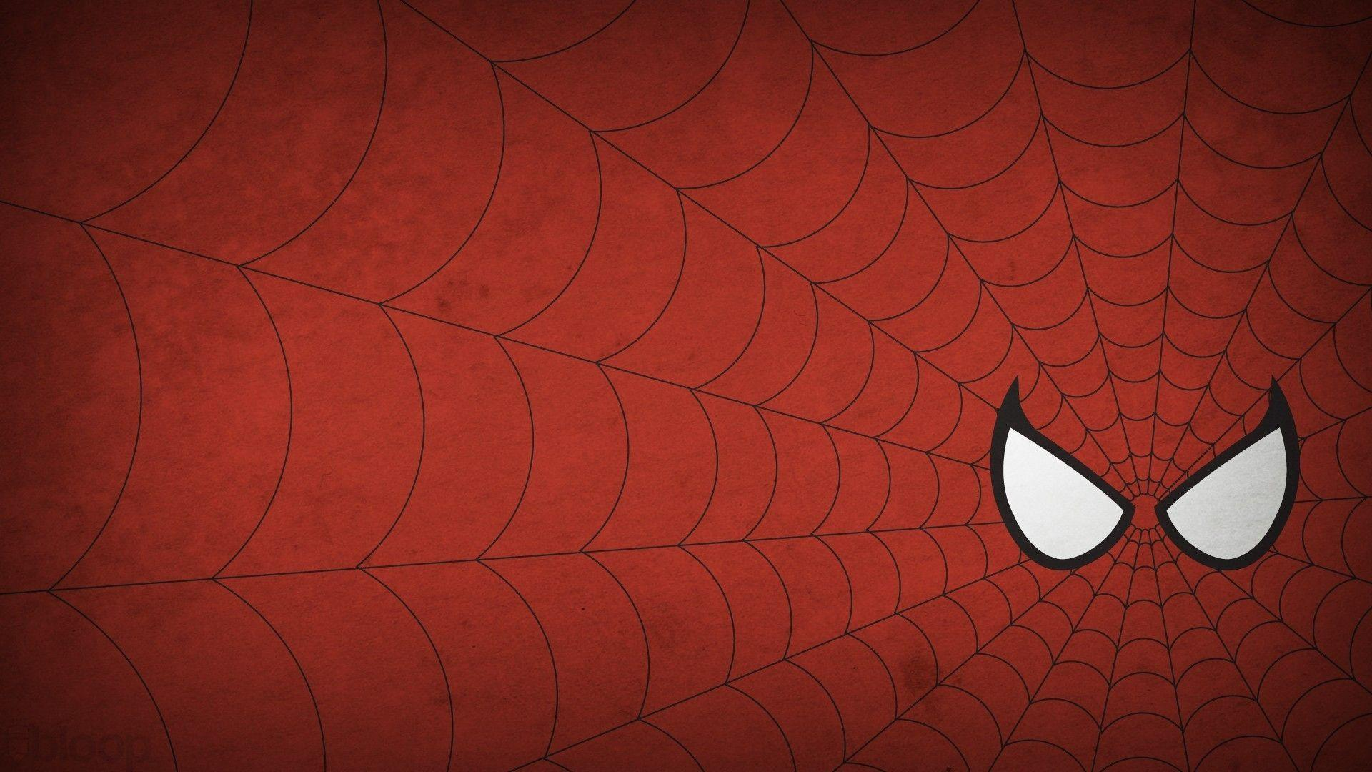 marvel comics spiderman logo 1920x1080 wallpapers