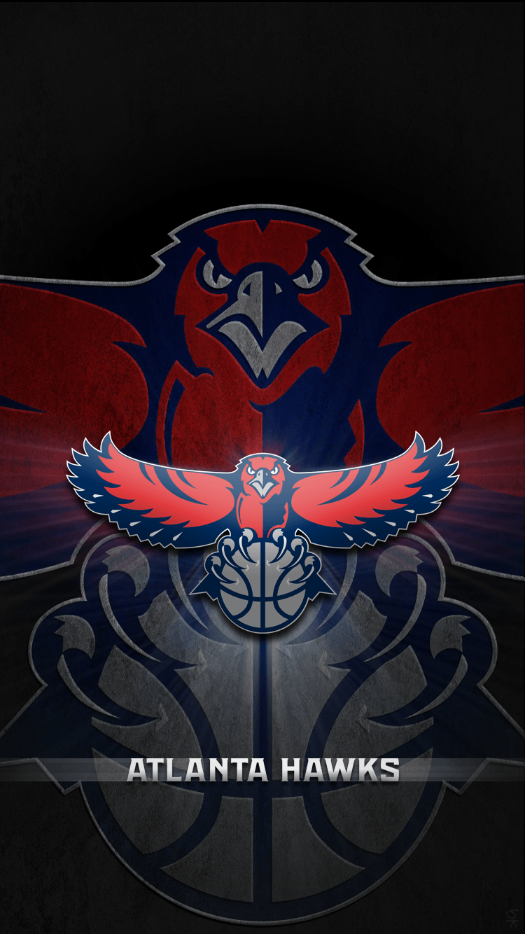Atlanta hawks wallpapers wallpaper cave - Hawk iphone wallpaper ...