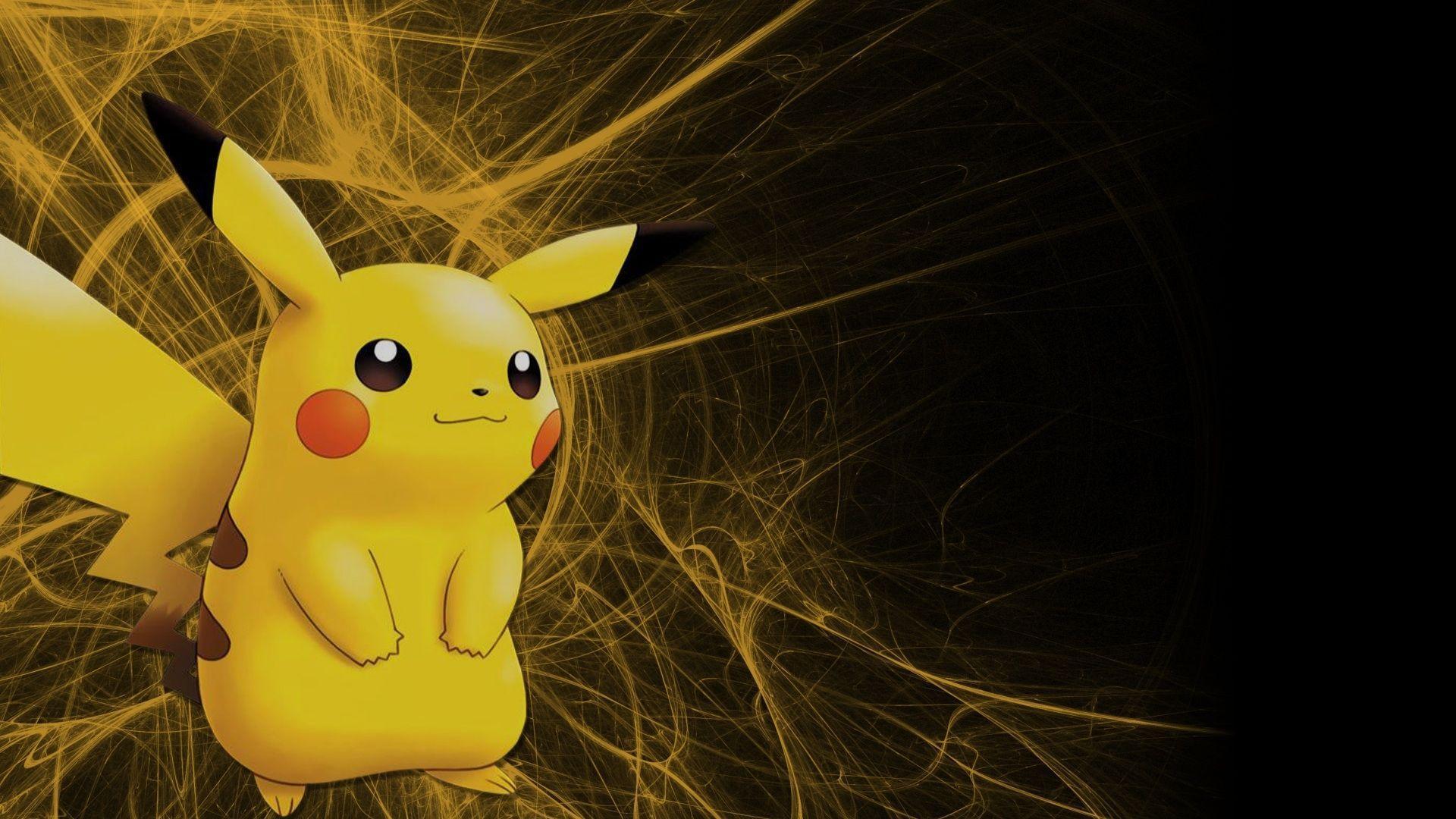 Pikachu Pokémon Wallpapers - Wallpaper Cave