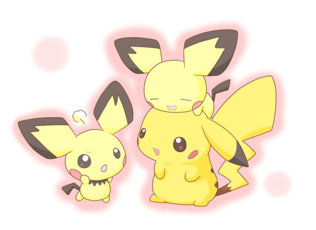 Pikachu pok mon wallpapers wallpaper cave - Kawaii pikachu ...