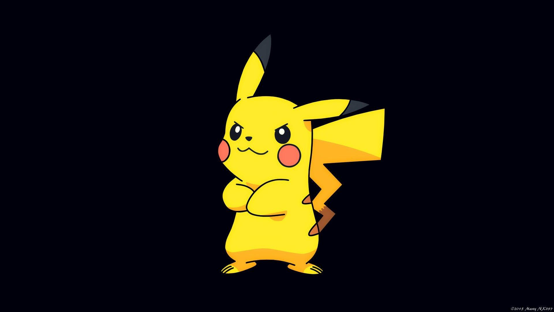 Pikachu Pokémon Wallpapers - Wallpaper Cave Pokemon Wallpaper Hd 1920x1080