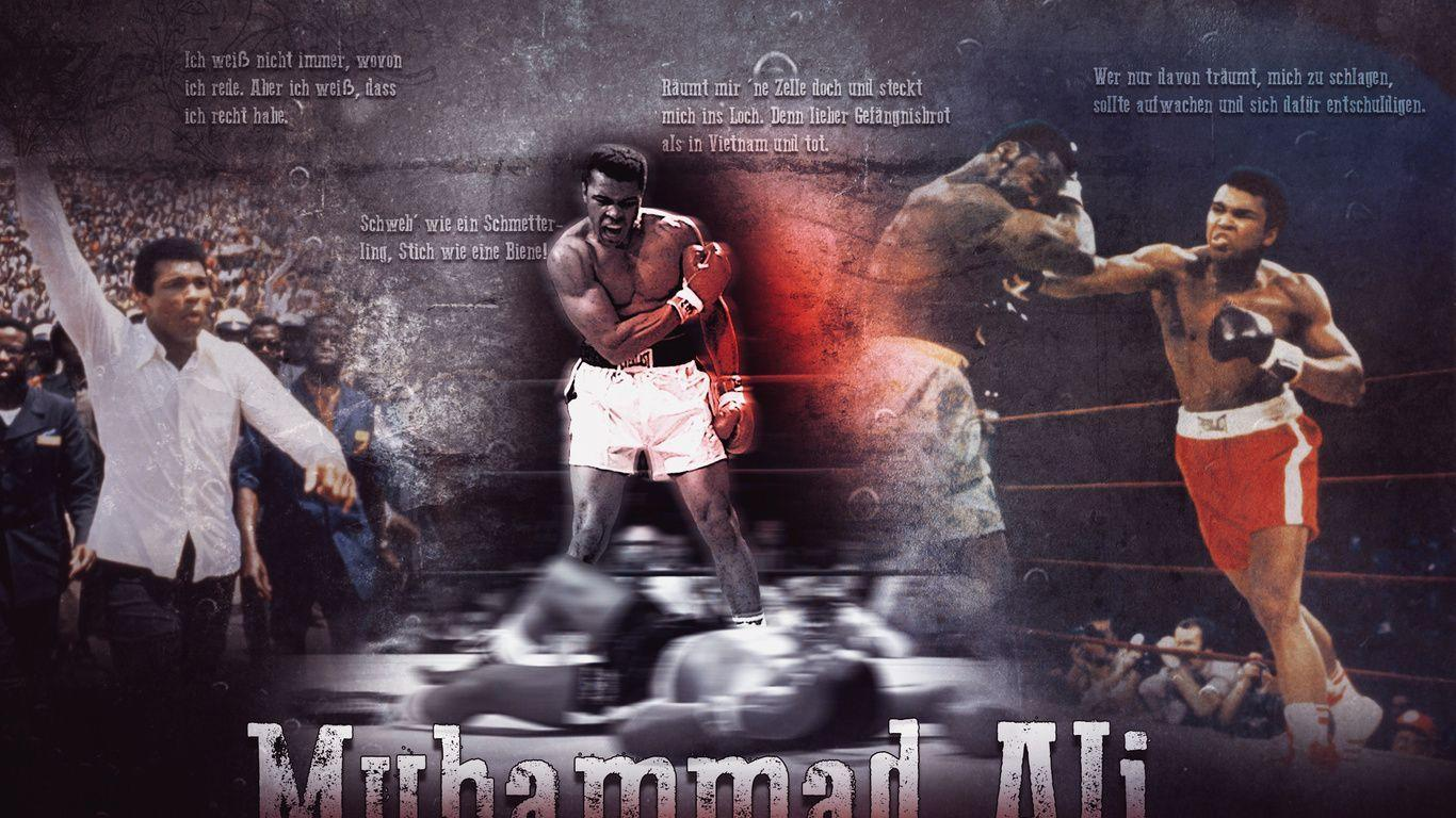 Ali boxing wallpaper