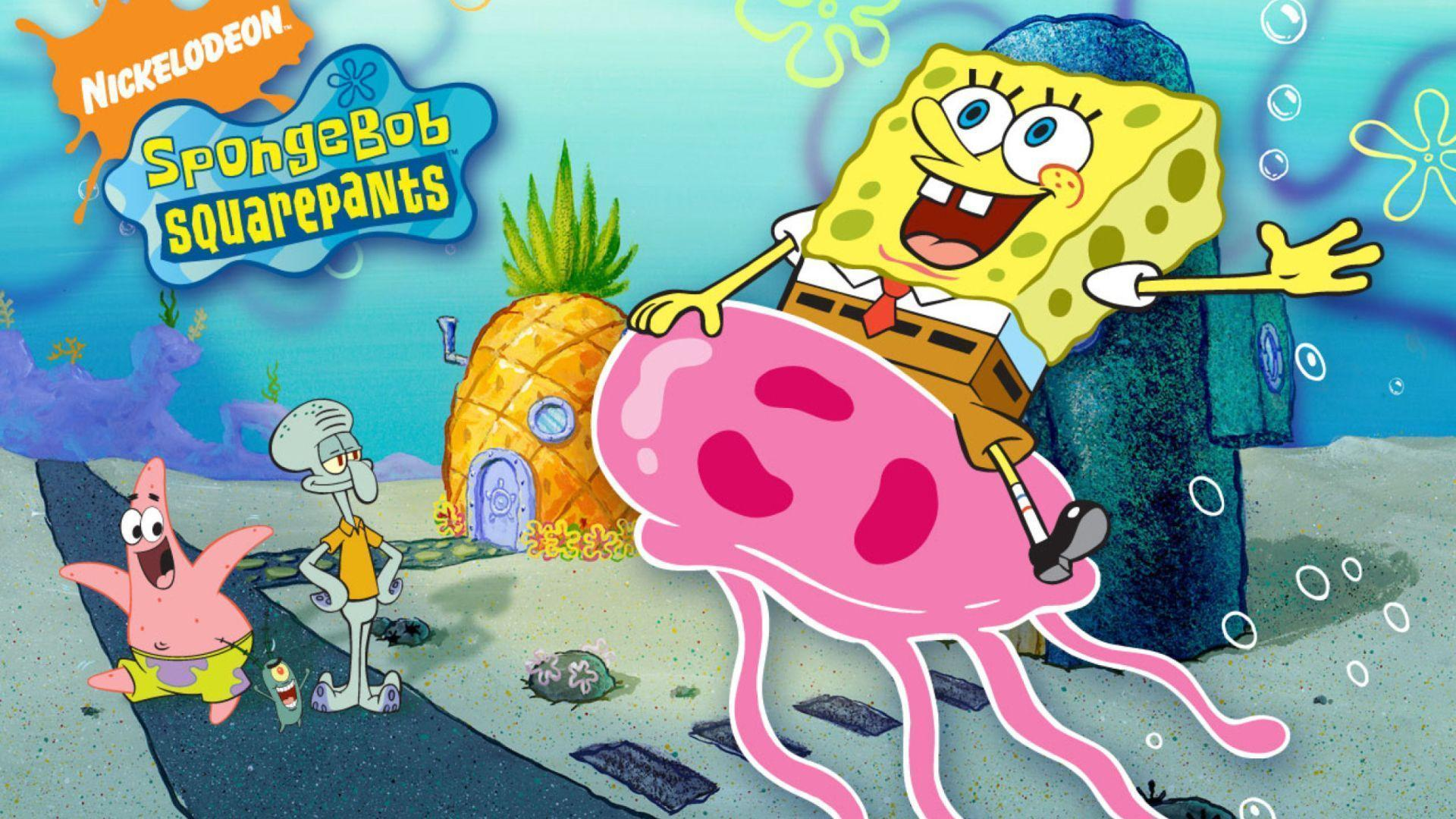 Nickelodeon Spongebob Squarepants Wallpapers for Desktop 1920x1080