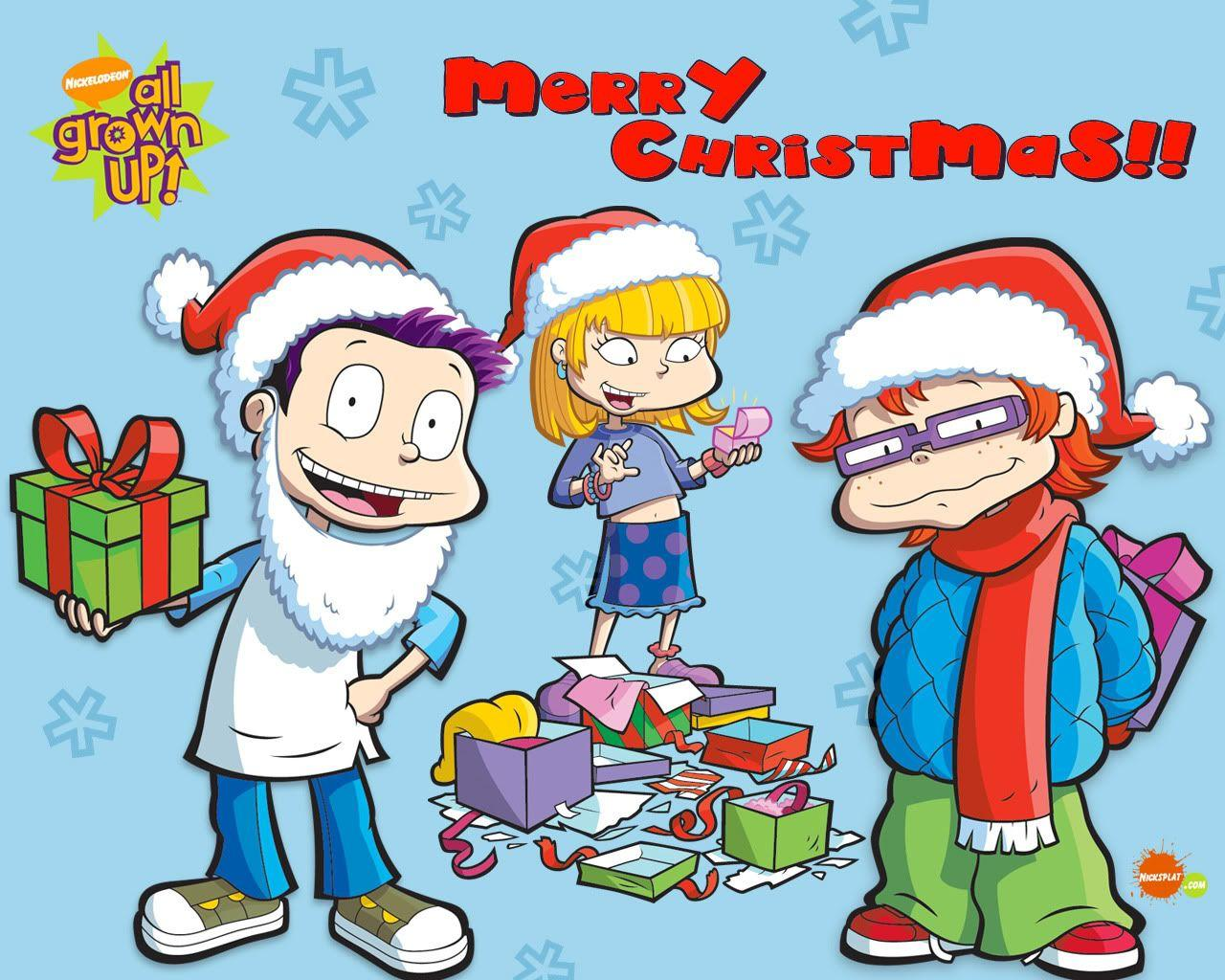 Nickelodeon Christmas Wallpapers : Christmas Cartoons