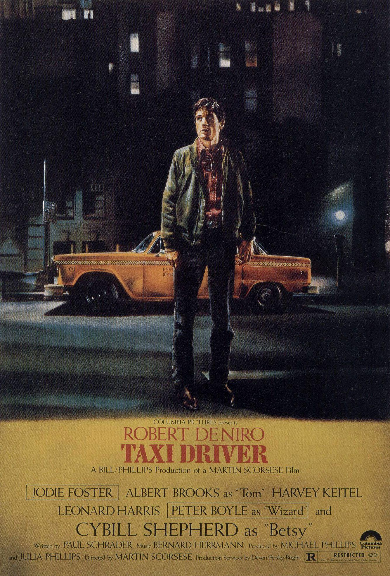 Taxi Driver, Robert De Niro, movie posters :: Wallpapers