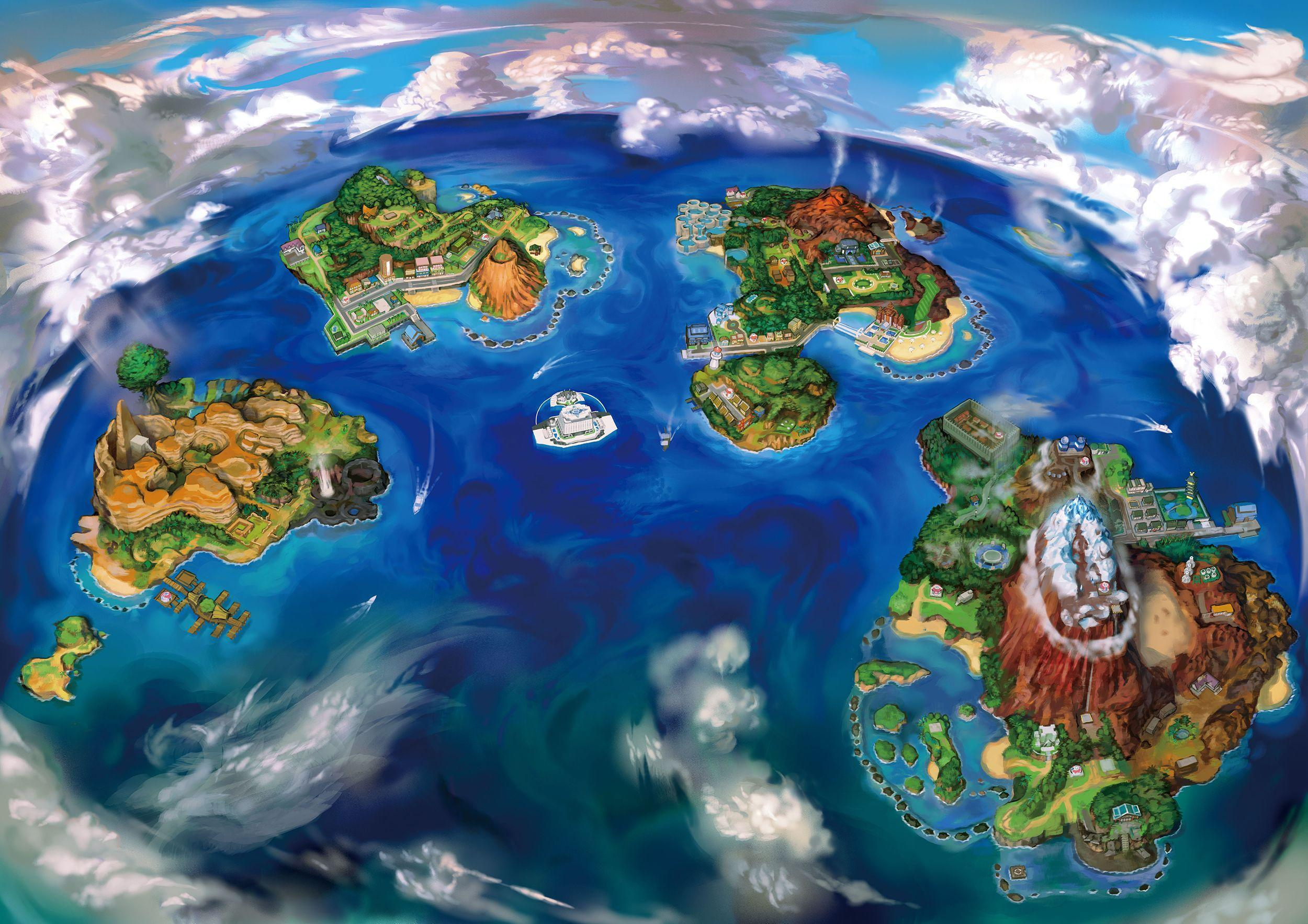 Pokemon Sun And Moon Hd Wallpapers Wallpaper Cave
