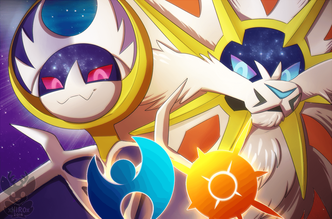 Pokemon] Sun and Moon Wallpapers by DrPokeLover