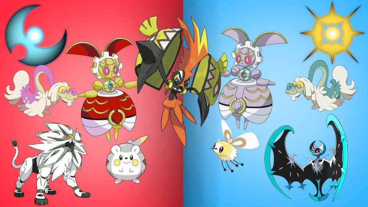 Pokemon Sun and Moon Wallpapers by TheBlueSceptile2