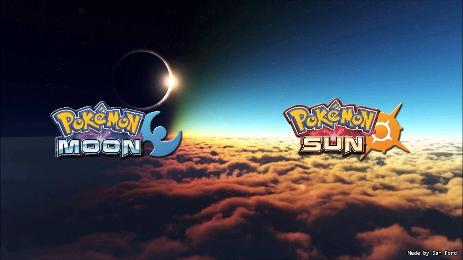 Pokemon Moon and Sun Desktop Wallpapers