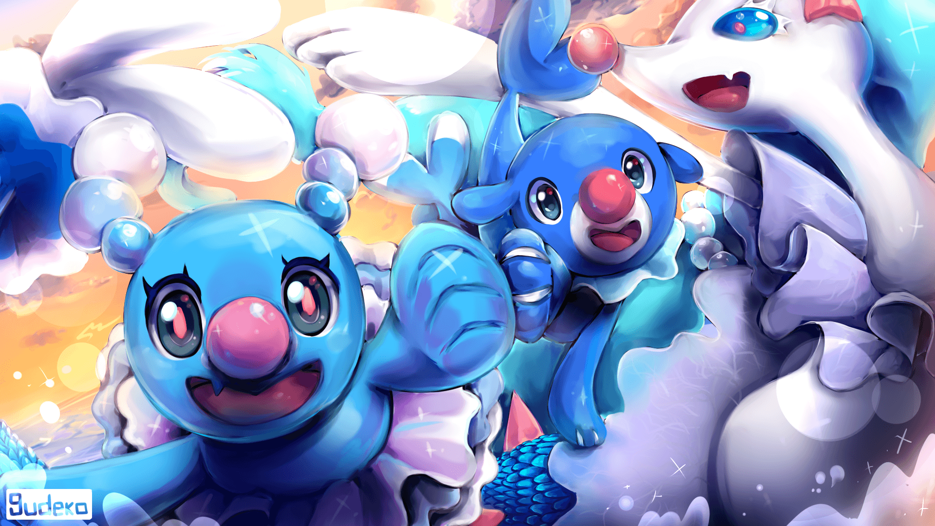 2 Brionne (Pokémon) HD Wallpapers | Background Images - Wallpaper Abyss
