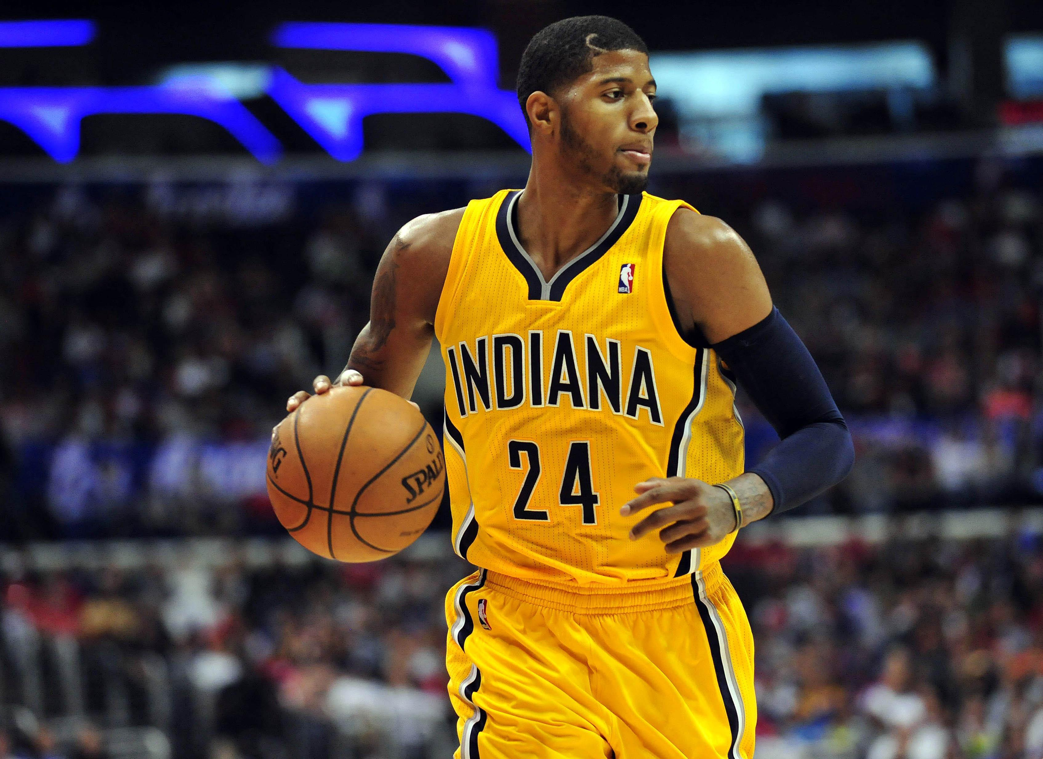 Indiana Pacers Paul George Wallpaper - WallpaperSafari