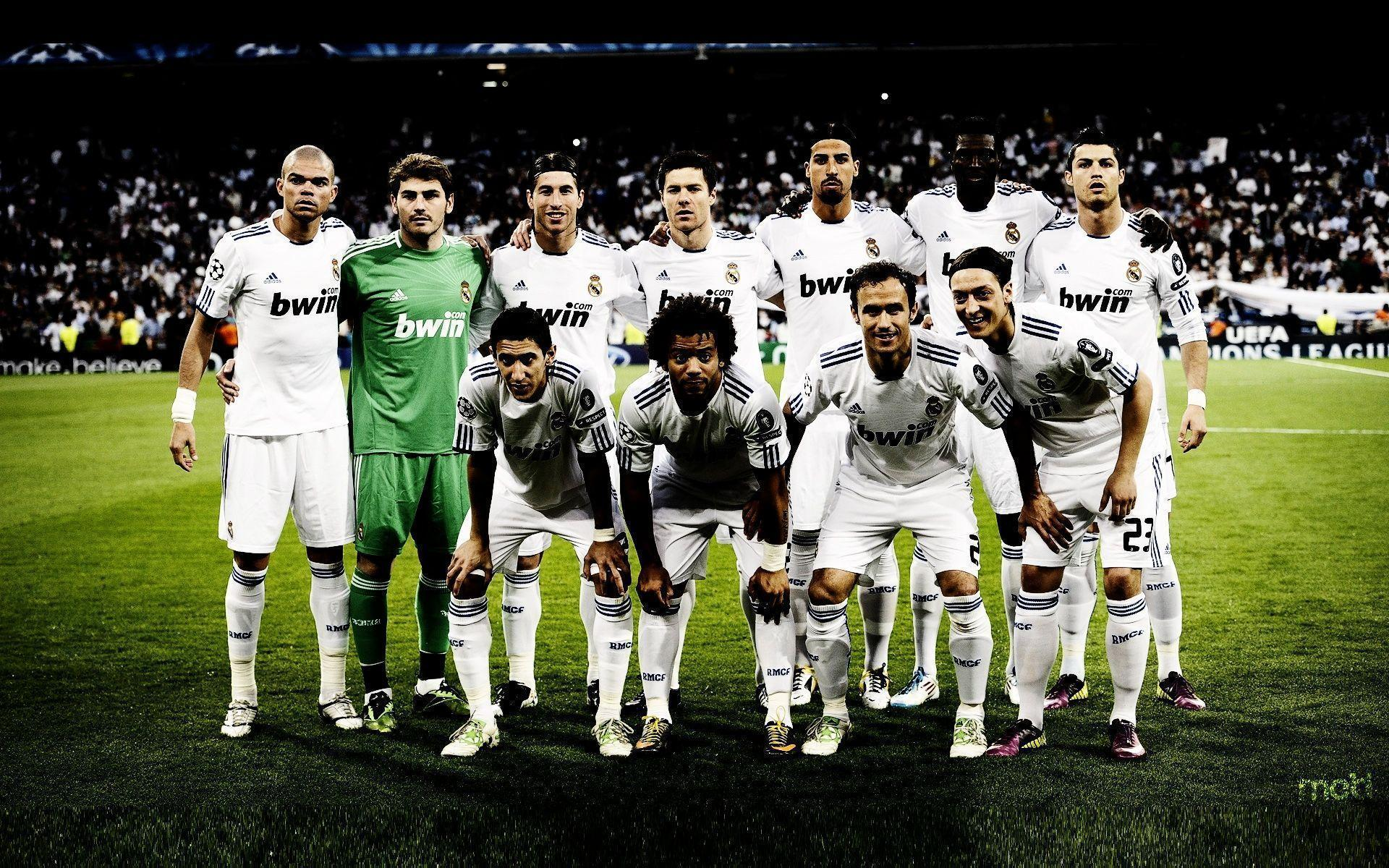 Real Madrid Soccer Team widescreen wallpapers