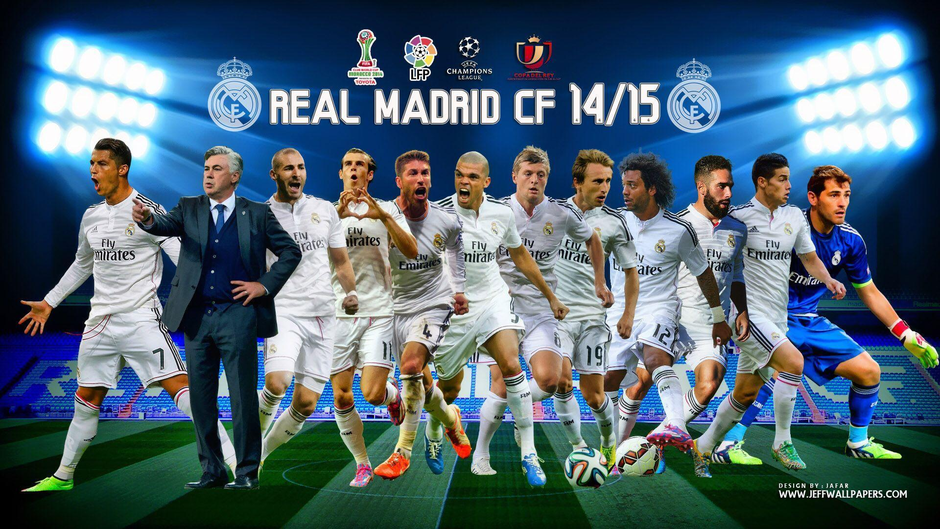 Wallpapers Real Madrid Full Hd Afari On Cover Team High Resolution