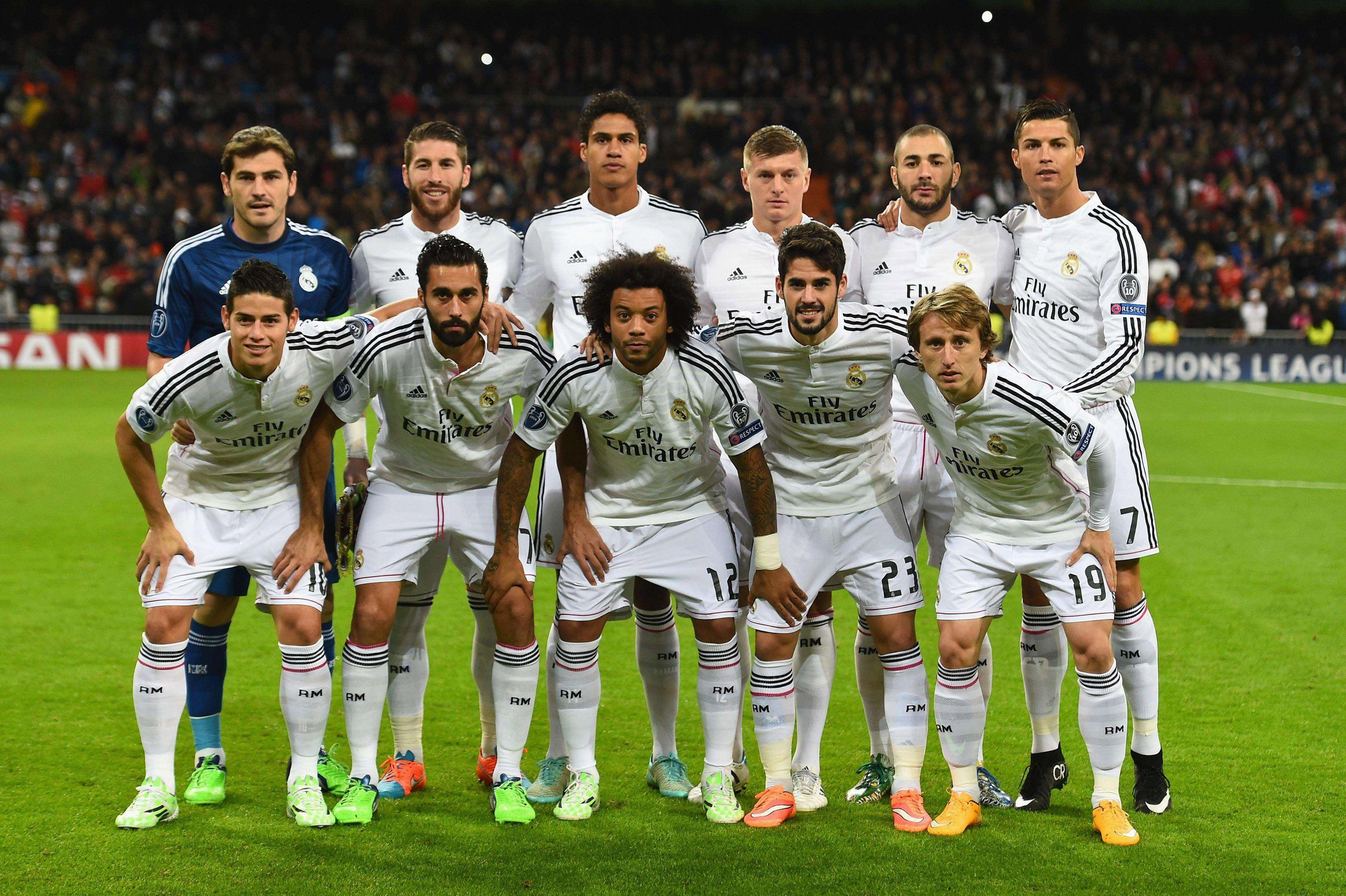 Real Madrid Pictures Wallpapers – Team Players and Names for 2014