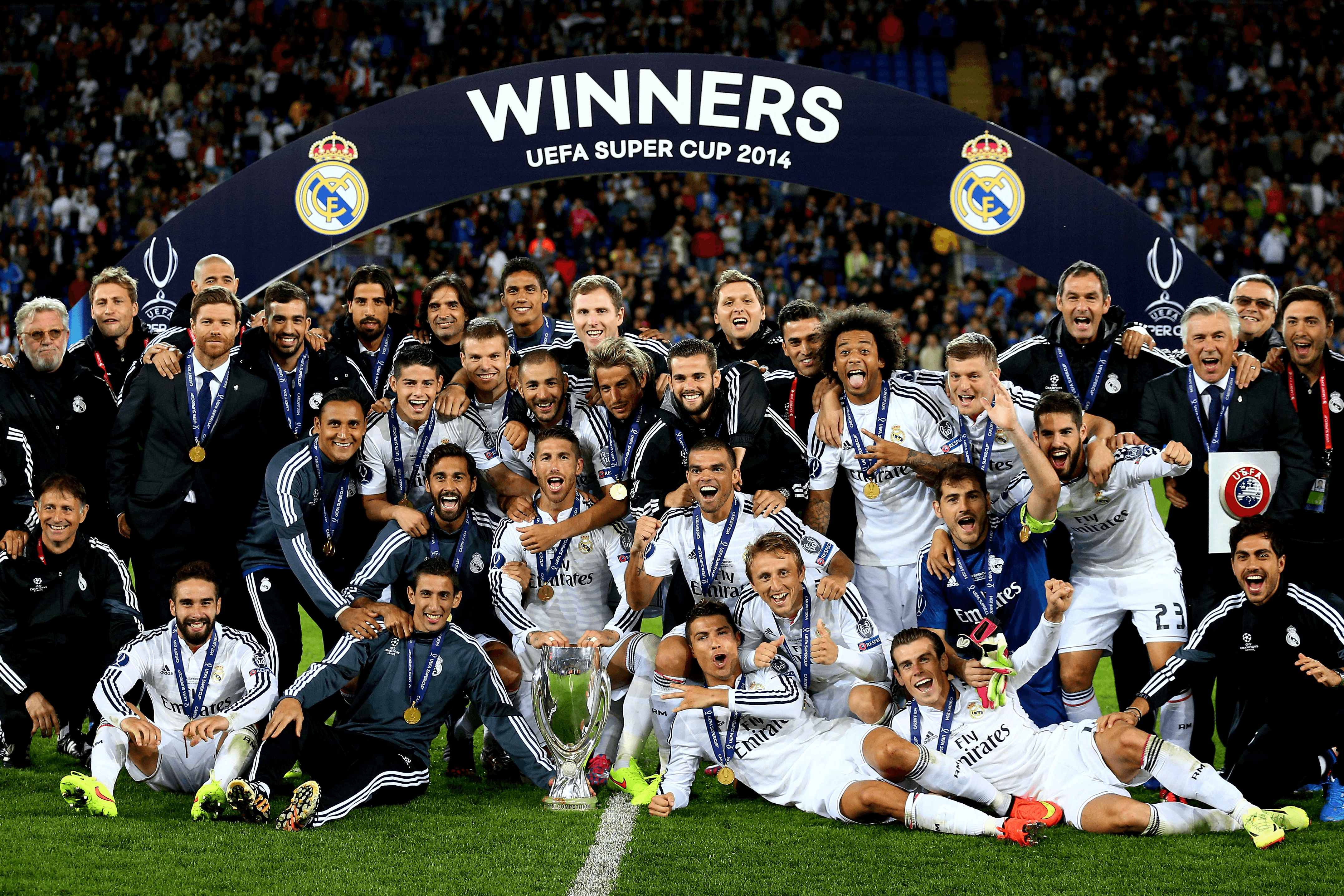 Real Madrid Team Wallpapers - Wallpaper Cave
