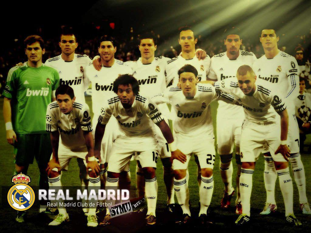 Team Real Madrid 2013 Wallpapers Wallpapers