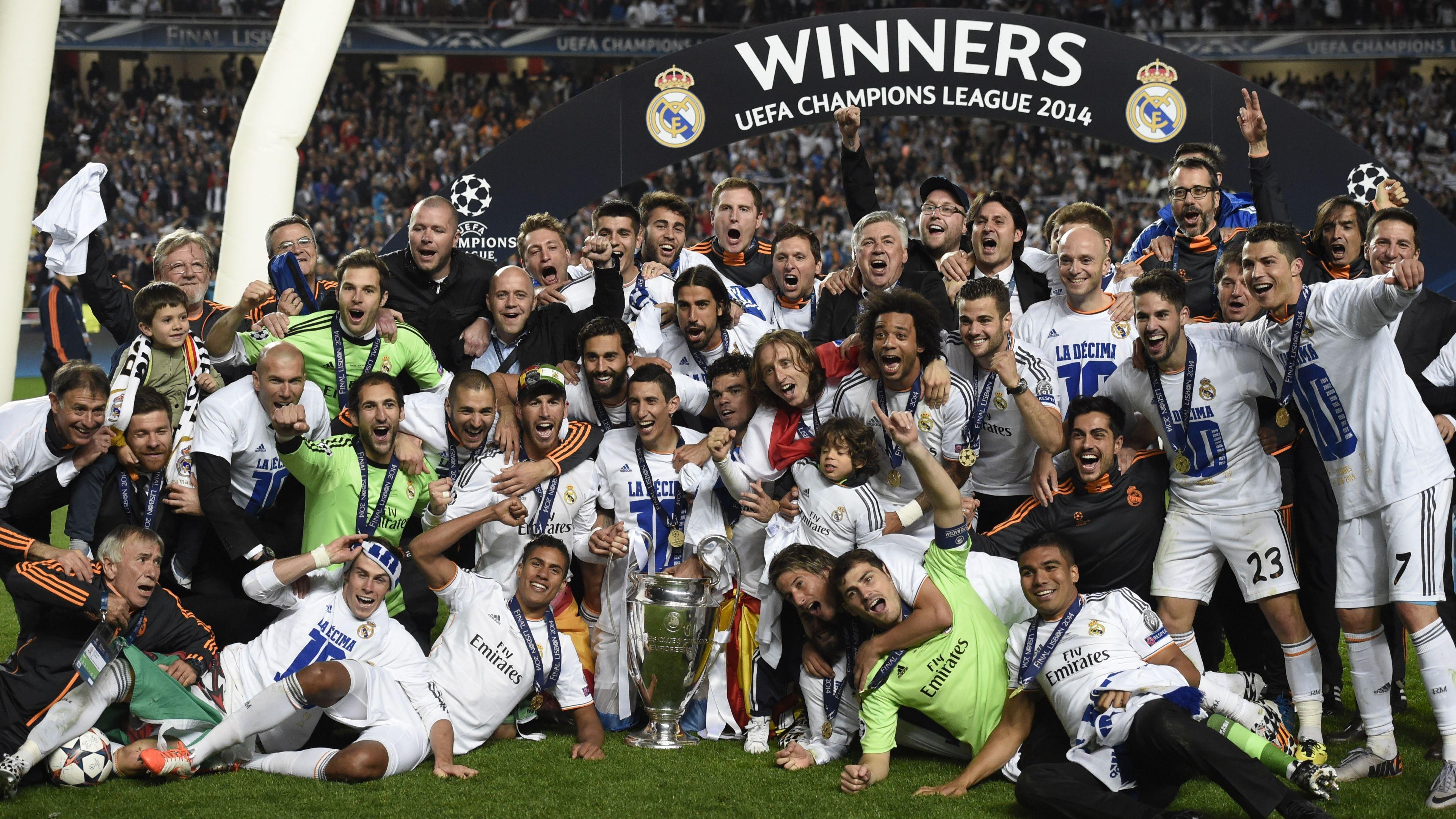 Real Madrid winners Champions League 2014 wallpapers