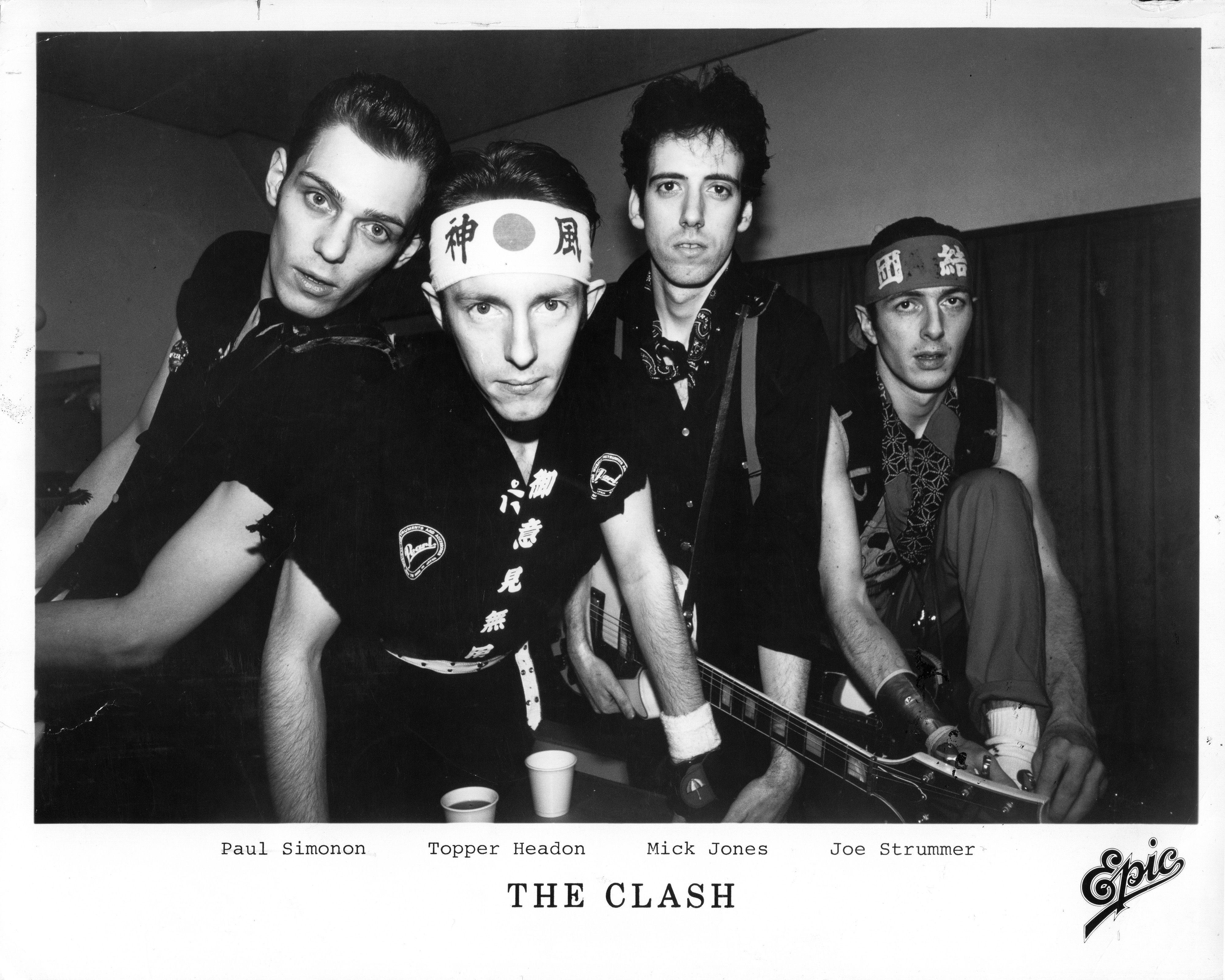 The Clash Wallpapers - Wallpaper Cave