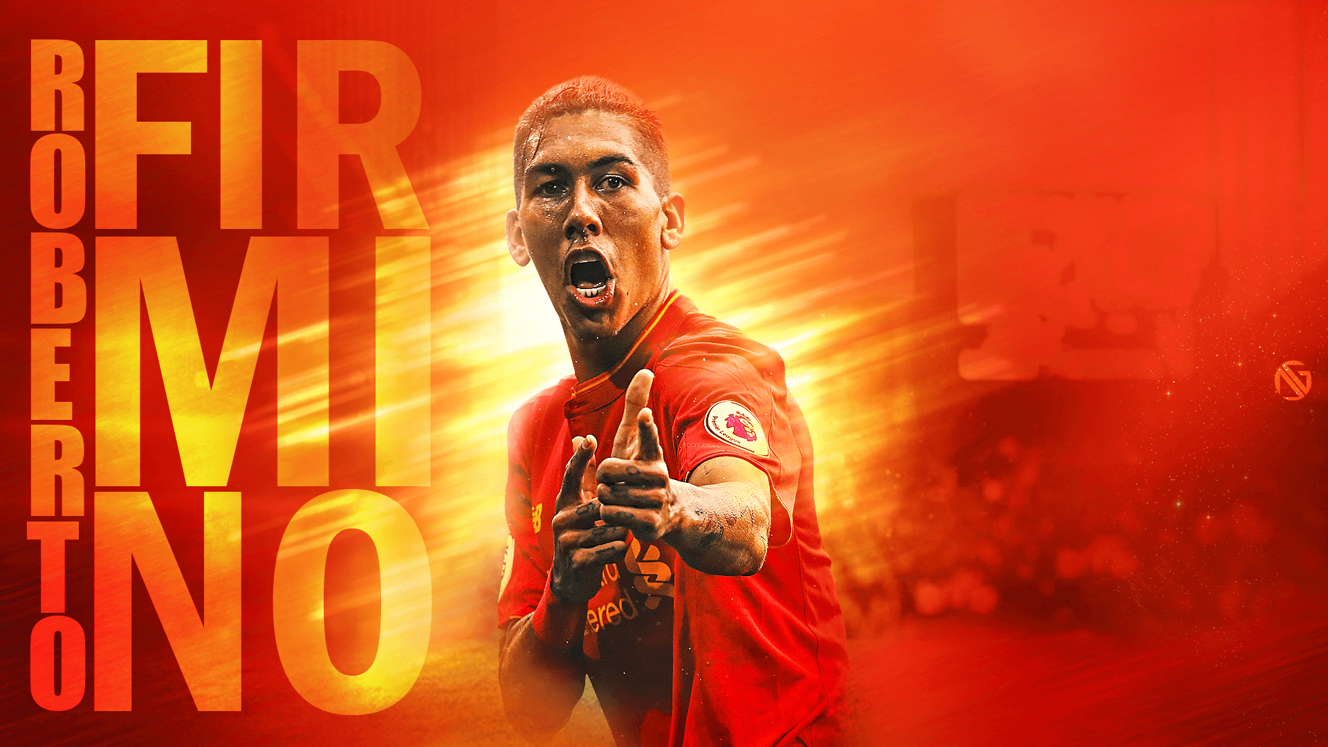 Roberto Firmino Wallpapers by dreamgraphicss