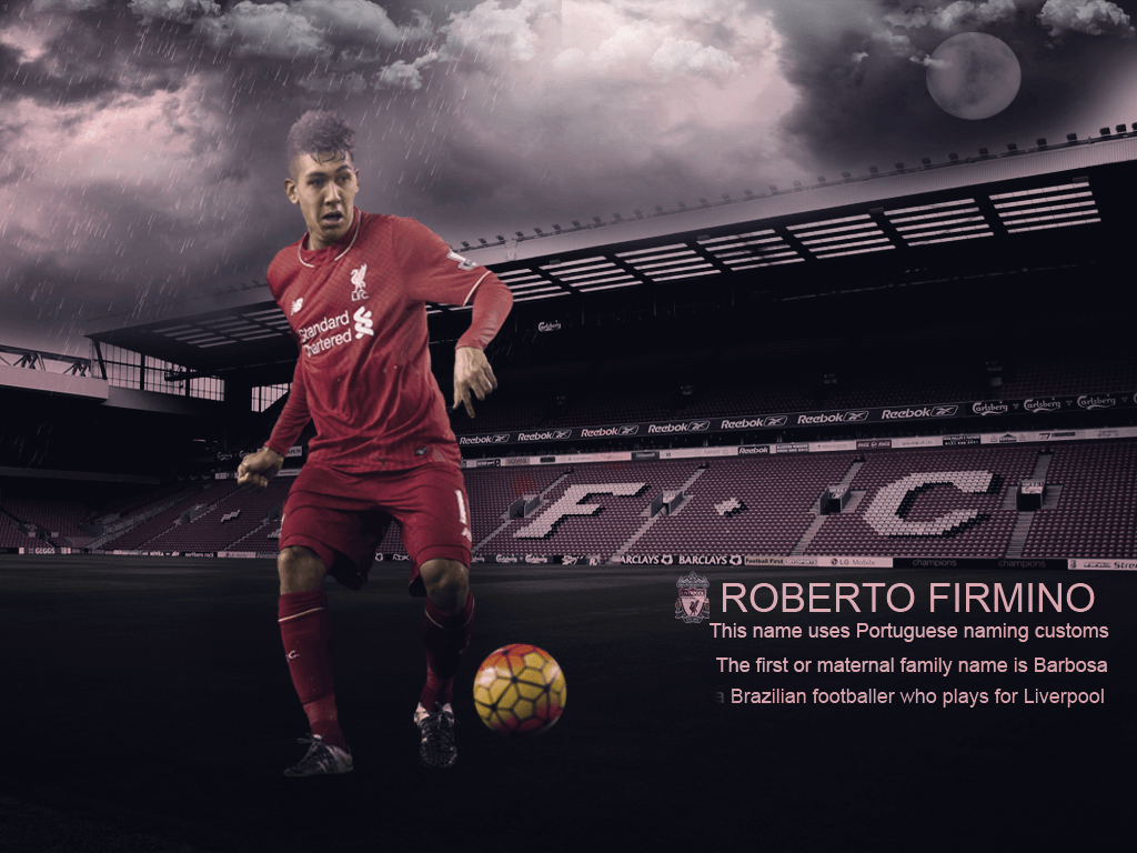 Wallpapers For Roberto Firmino by AboAlaaDesign