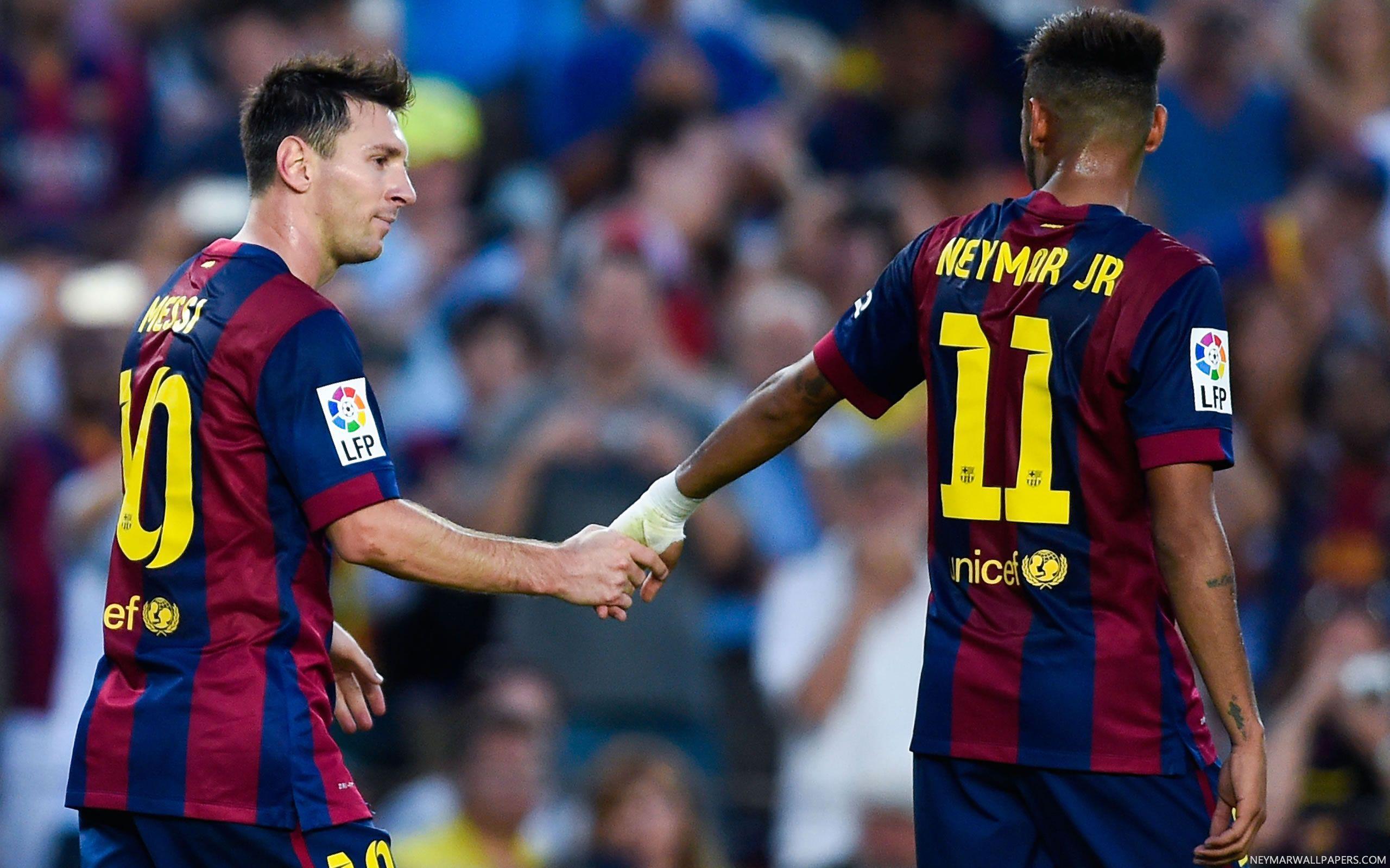 Neymar Messi Wallpapers Wallpaper Cave