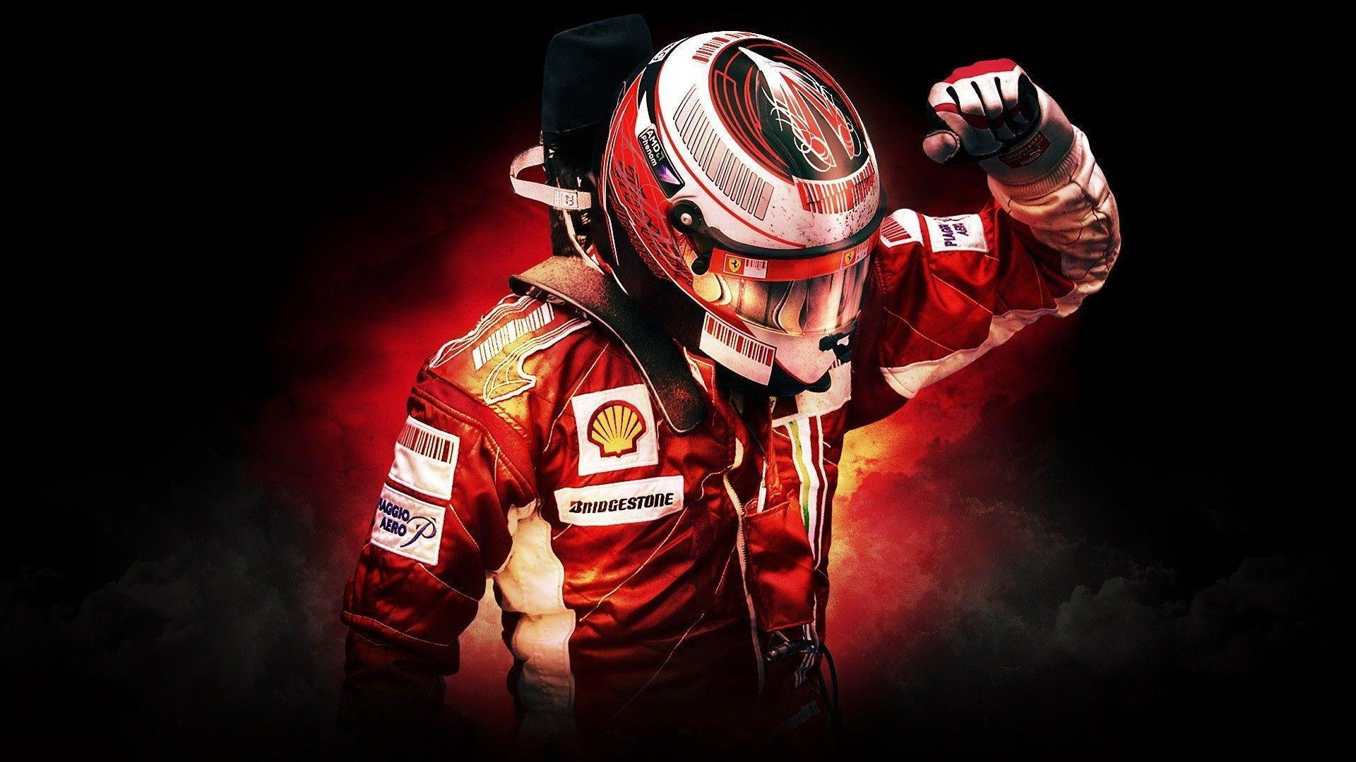 Formula 1, Scuderia Ferrari, Kimi Raikkonen, Sports Wallpapers HD