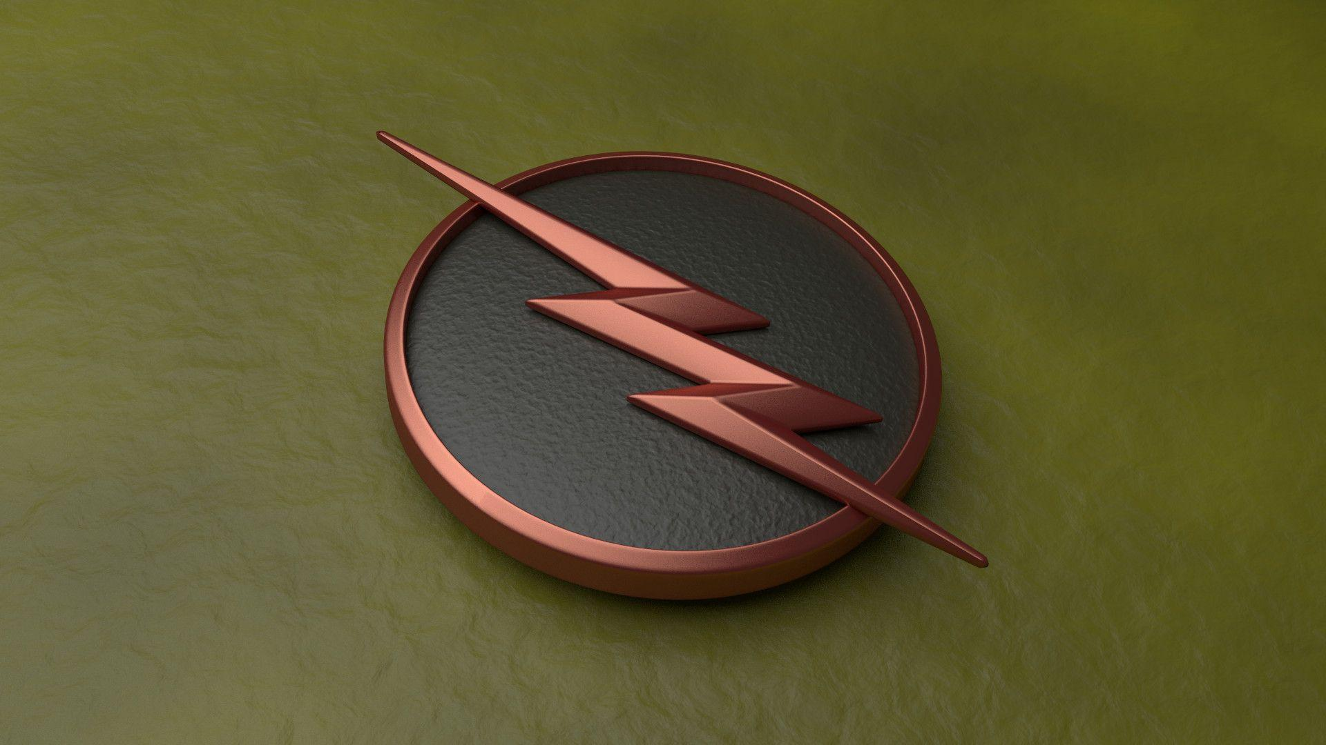 Inspired by /u/IcedJack, I also made the Flash logo in Blender
