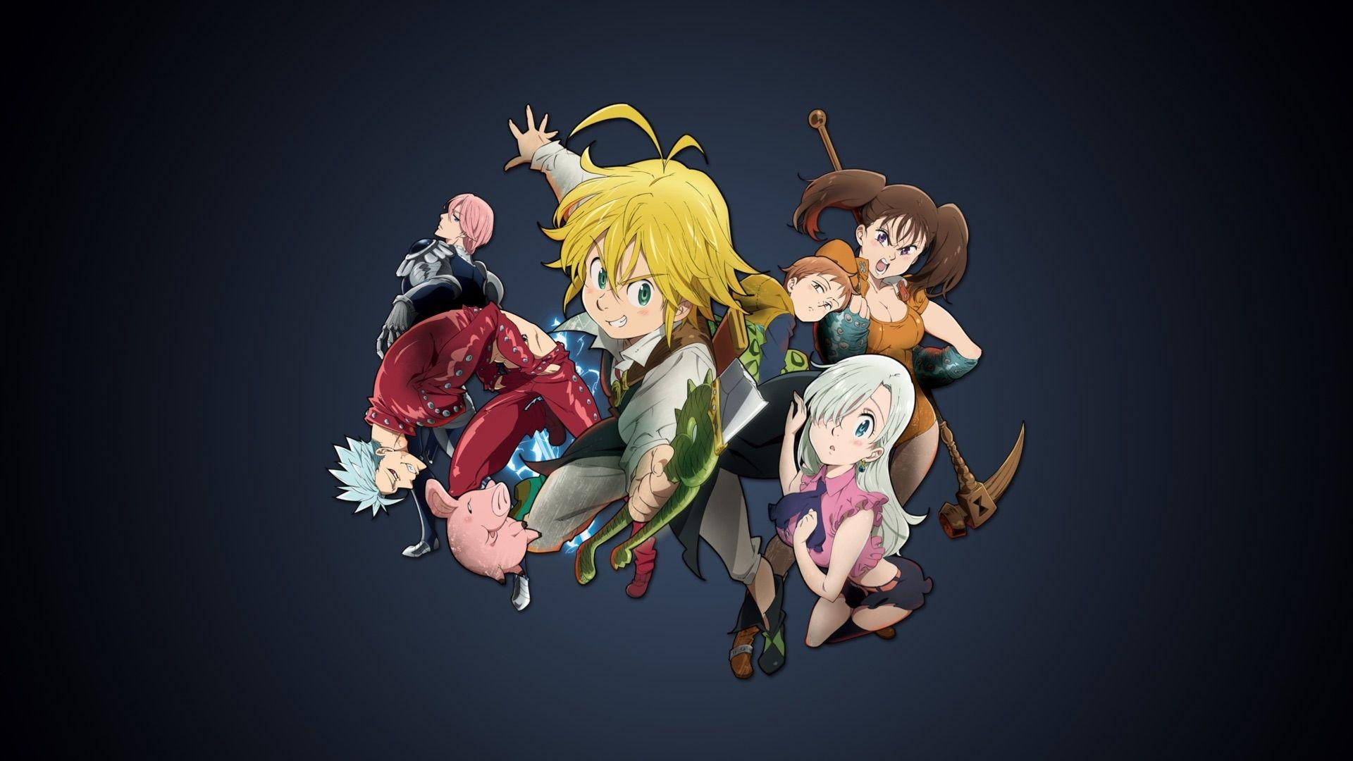 Adorable 7 Deadly Sins Wallpapers, 56619518 1920x1080