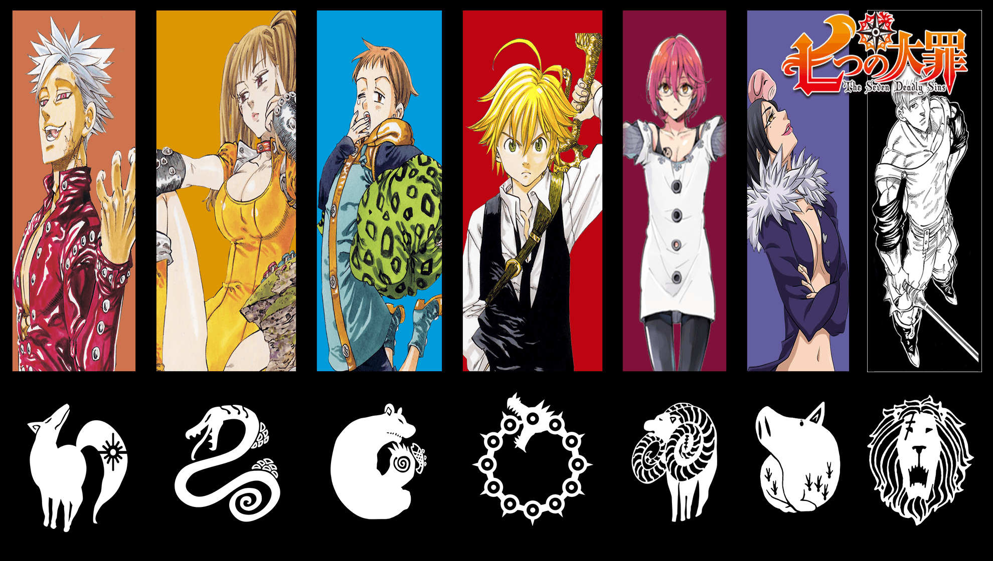 7 Deadly Sins Wallpapers
