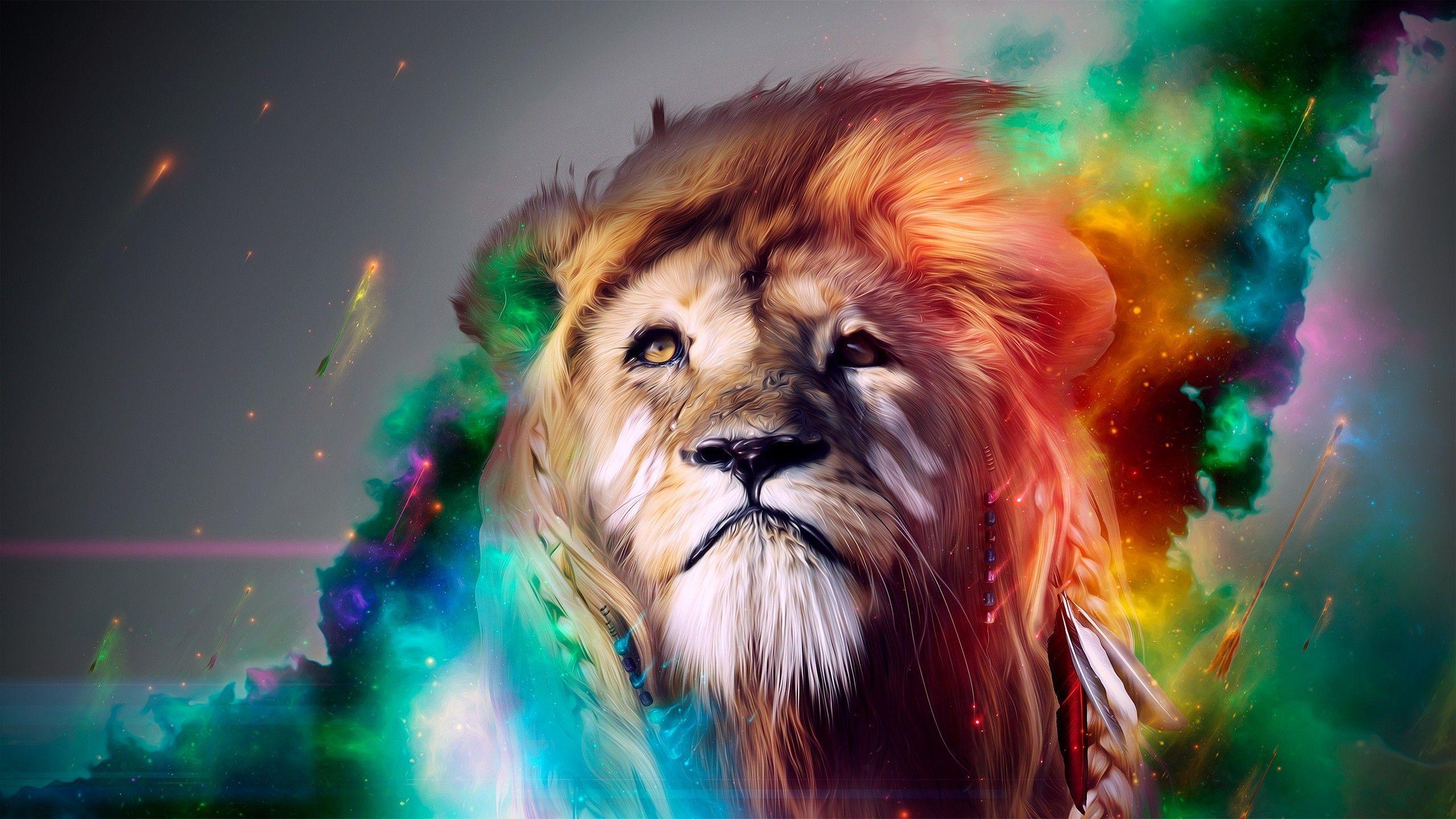 3d Lion Wallpapers Wallpaper Cave