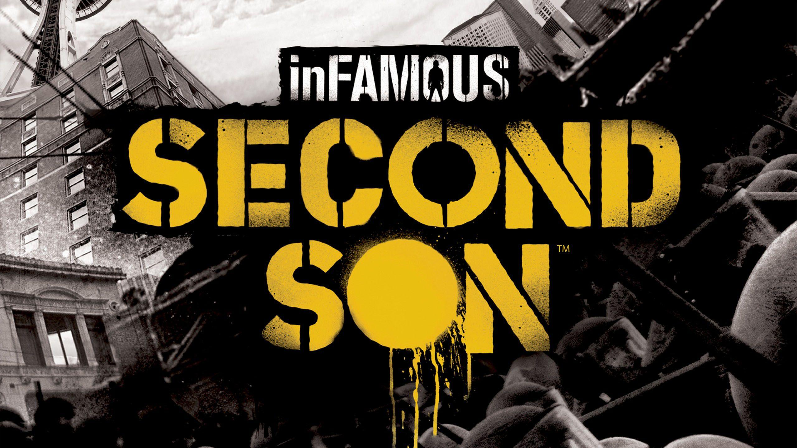 inFAMOUS Second Son Logo - 2560x1440 - WHQD 16/9 (Wide Quad High ...