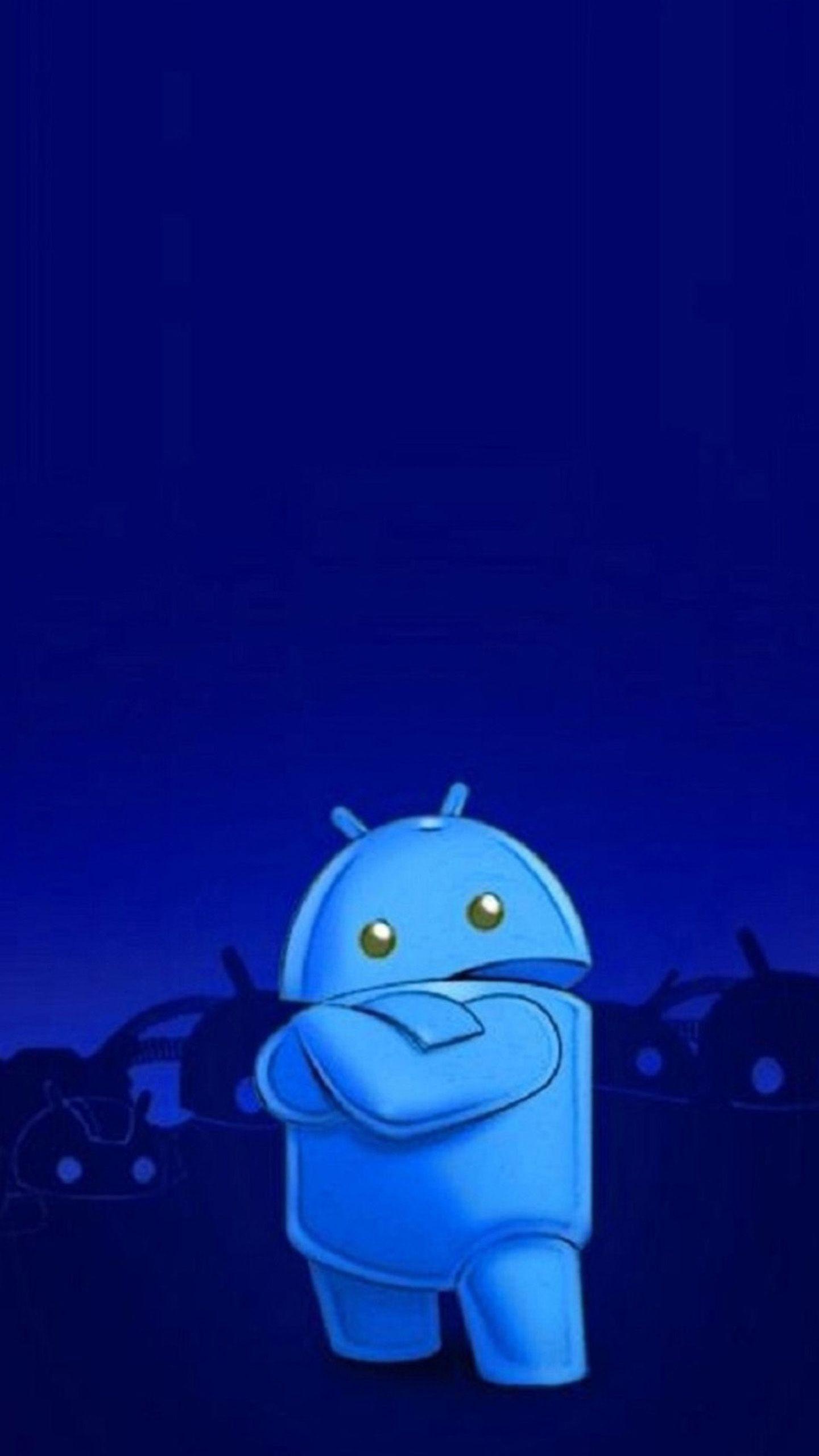 Обои На Телефон Андроид Синие
