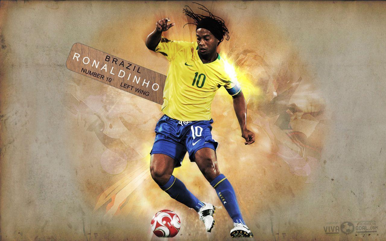 Ronaldinho ga cho wallpapers wallpaper cave - Ronaldinho wallpaper ...