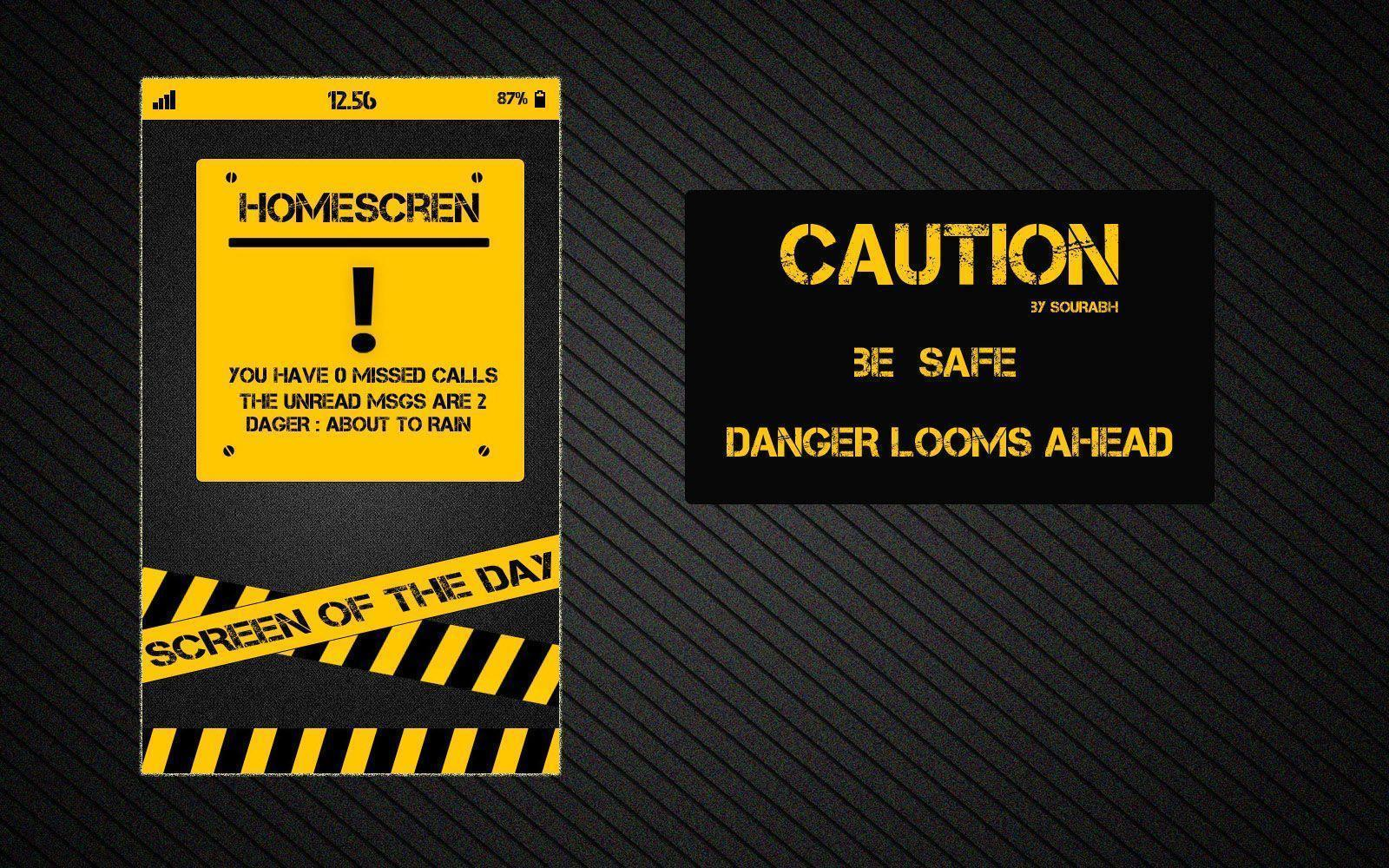 Caution HD Wallpapers | Full HD Pictures