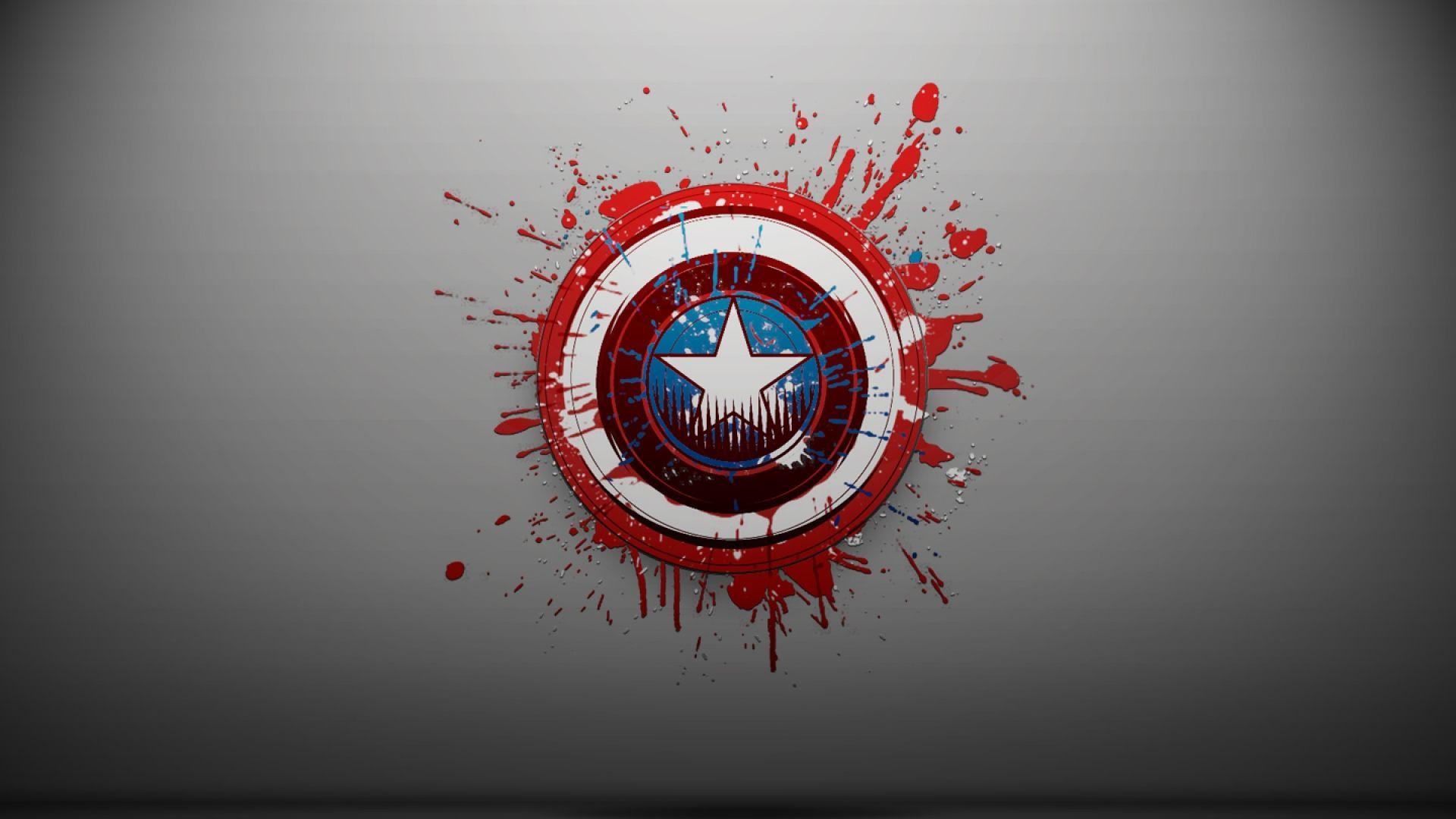 Captain America Shield Wallpaper HD - WallpaperSafari