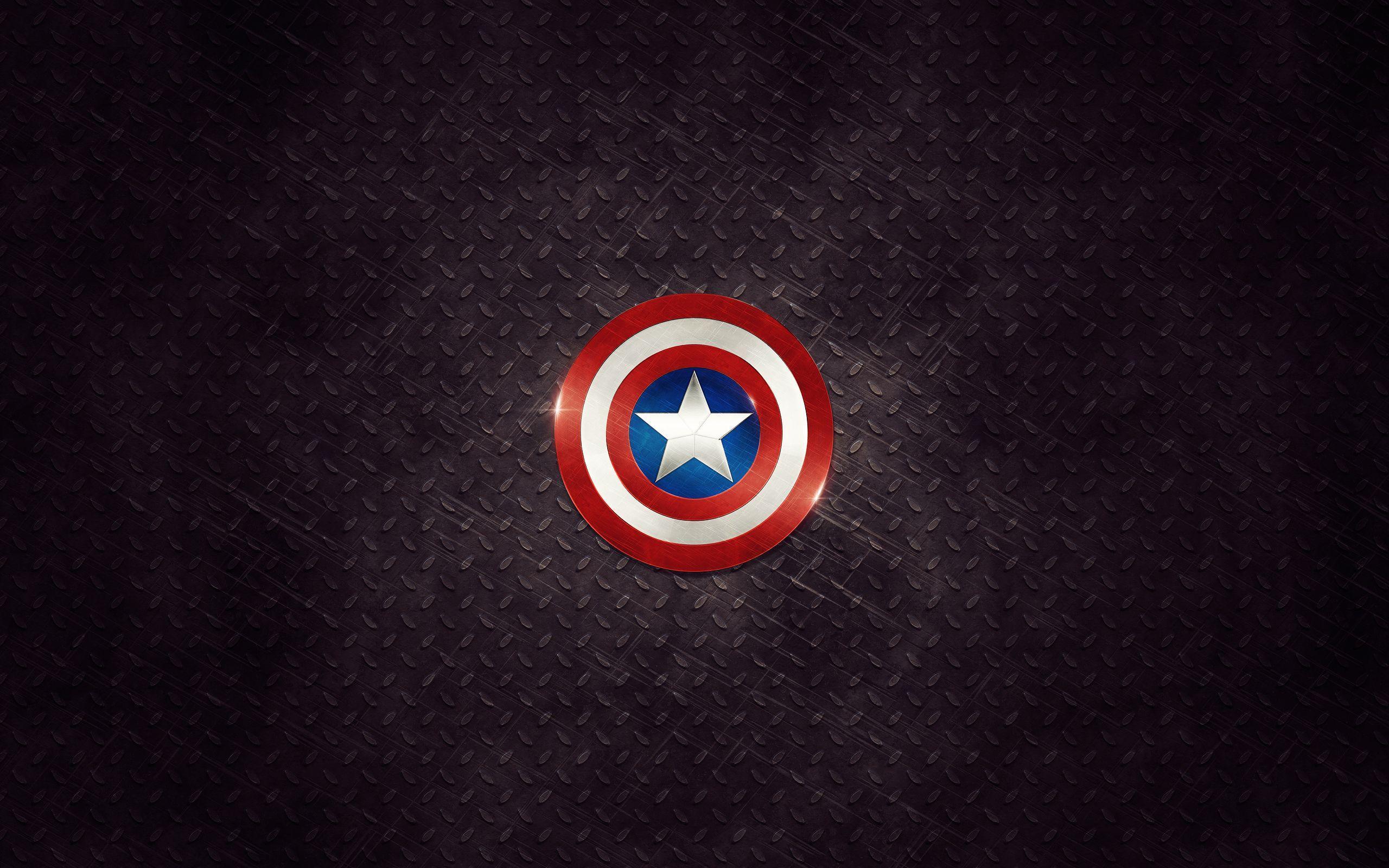Captain America Logo Wallpapers Wallpaper Cave