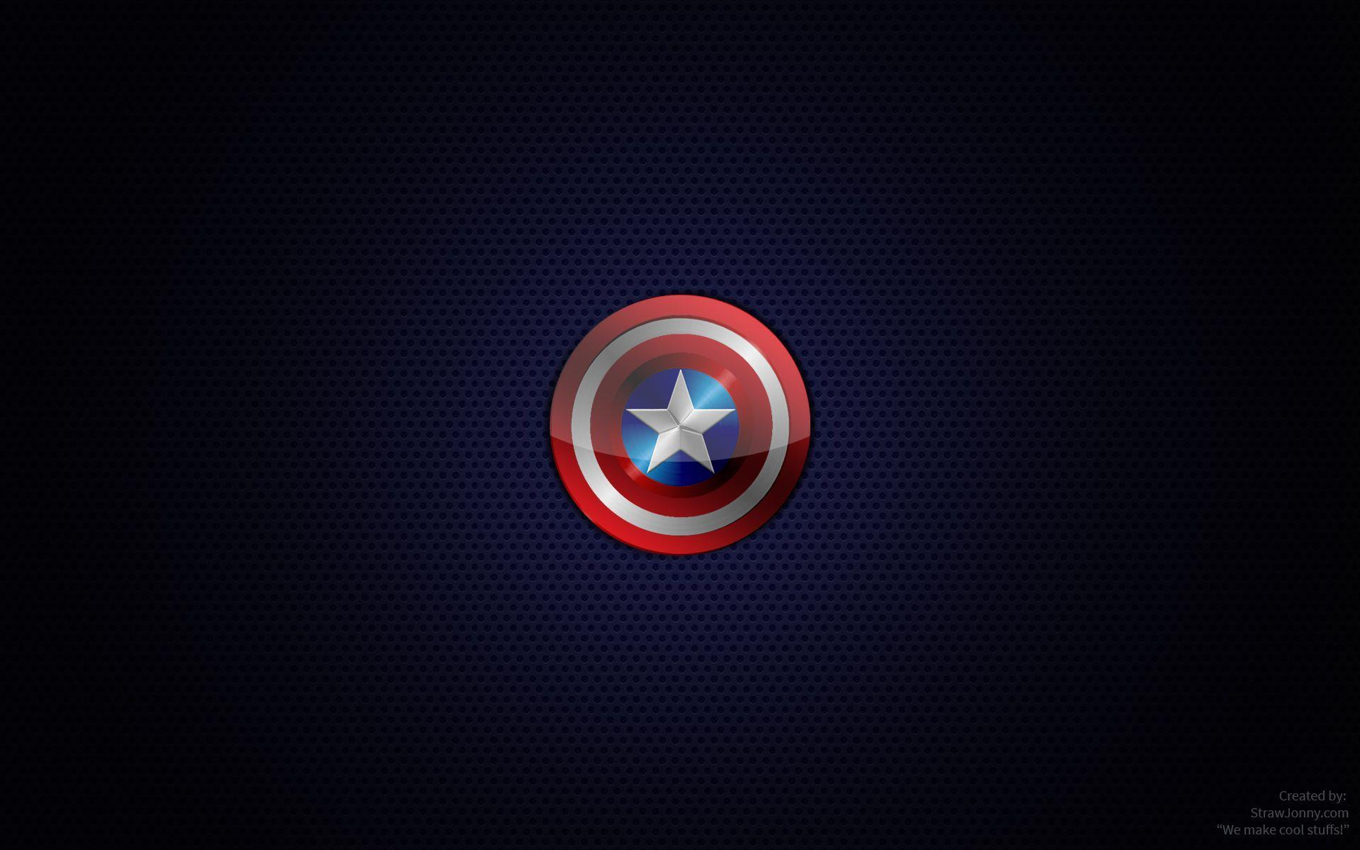 captain america logo wallpapers wallpaper cave
