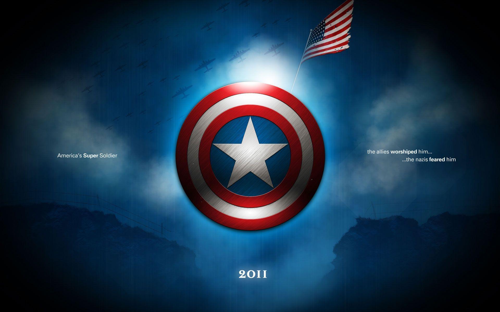 Captain America Shield iPhone Wallpaper - WallpaperSafari