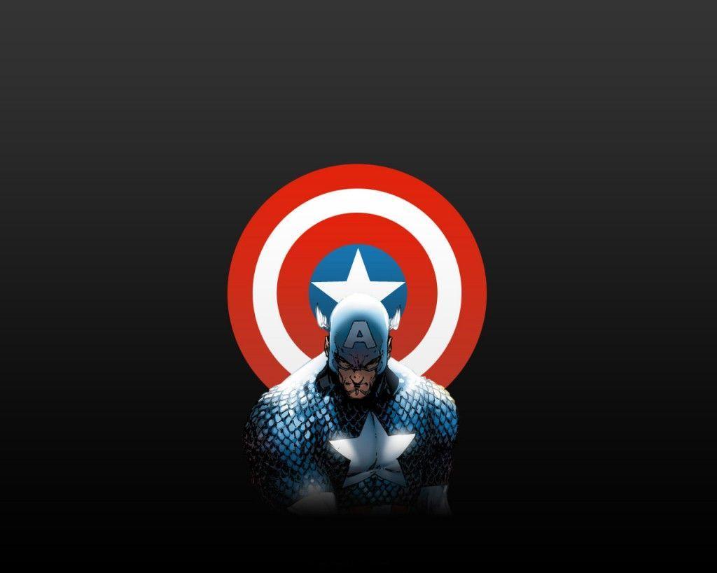 captain america and shield | Zoom Comics - Daily Comic Book Wallpapers