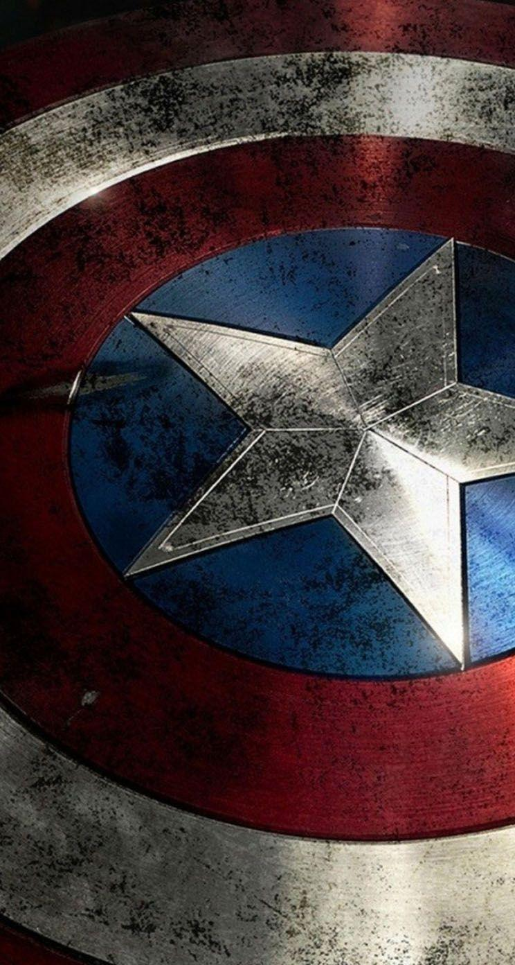 Captain America Shield - The iPhone Wallpapers