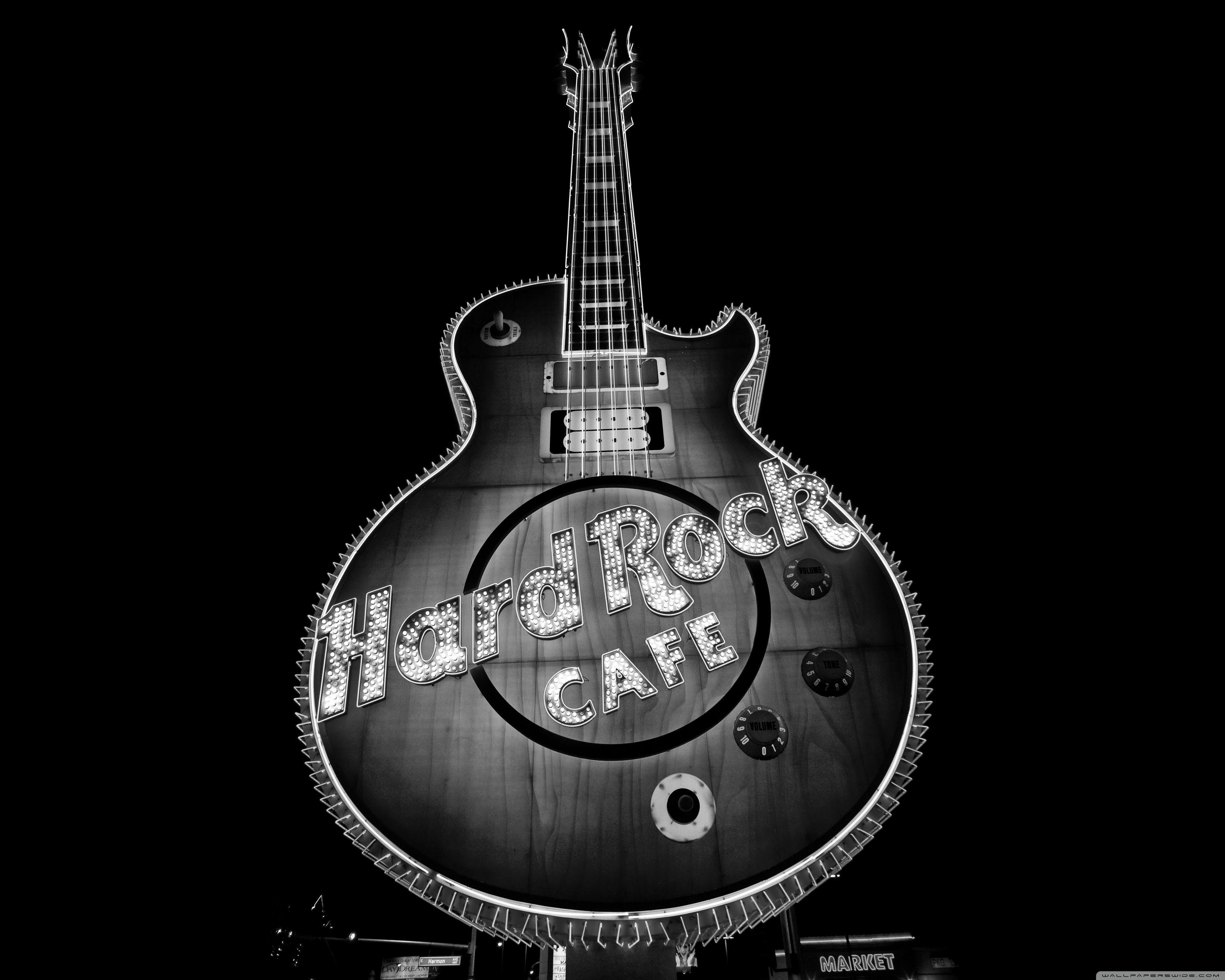 Hard Rock Cafe, Las Vegas HD desktop wallpapers : Widescreen : High