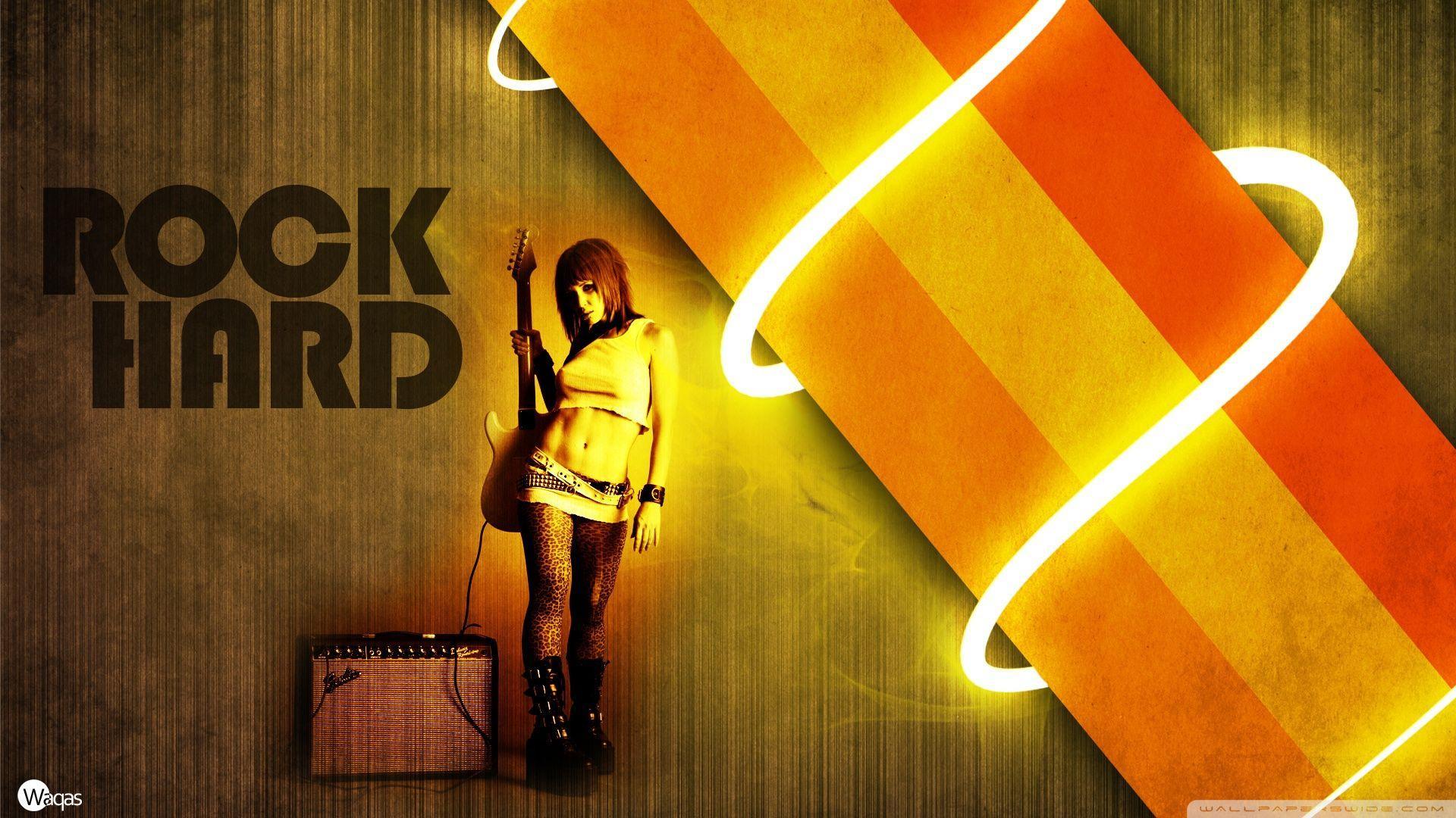 Rock Hard HD desktop wallpaper : High Definition : Fullscreen : Mobile