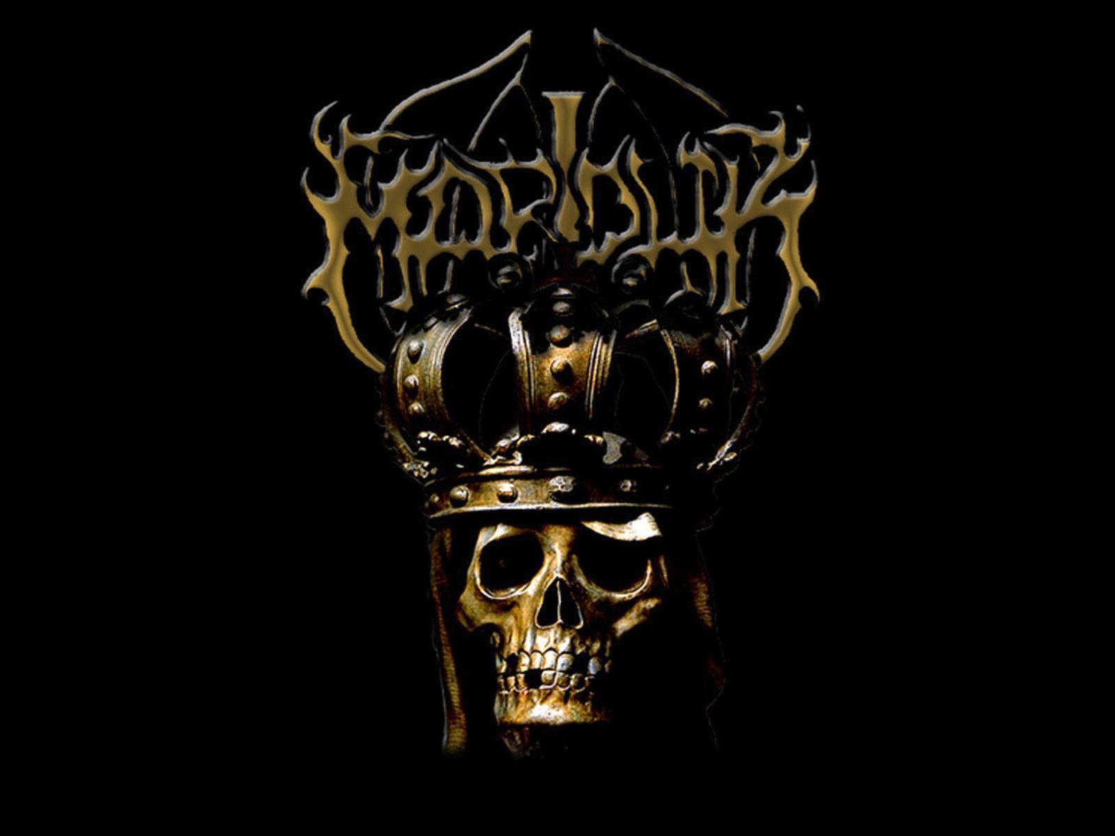 MARDUK black metal heavy hard rock dark skull skulls wallpaper ...