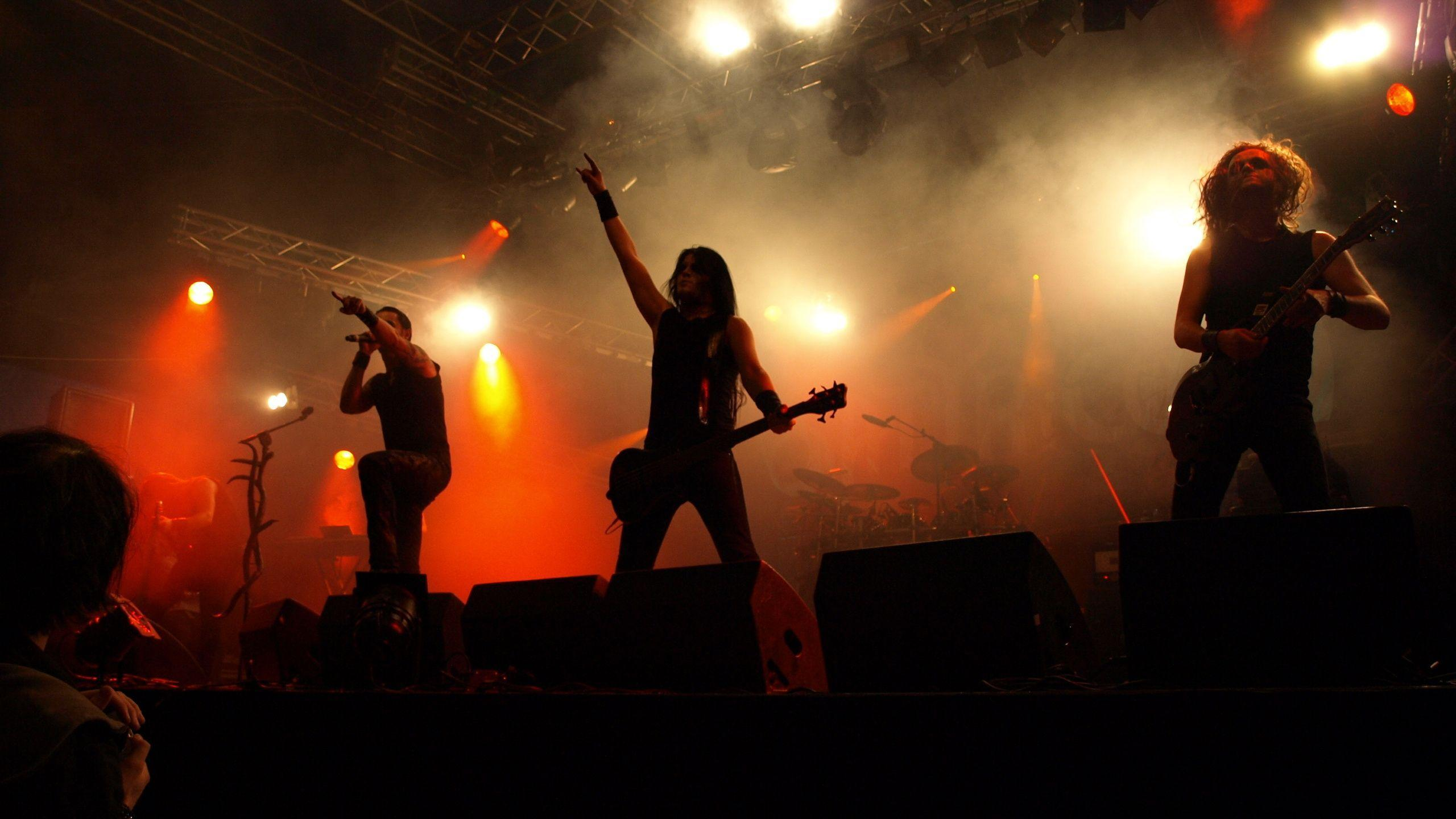 2560x1440 Satyricon, Heavy Metal, Hard Rock, Concert, Guitar