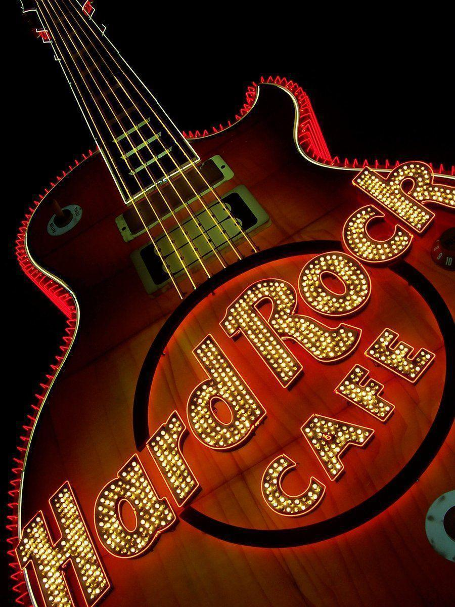 Hard Rock Cafe Guitar by DarkCozy